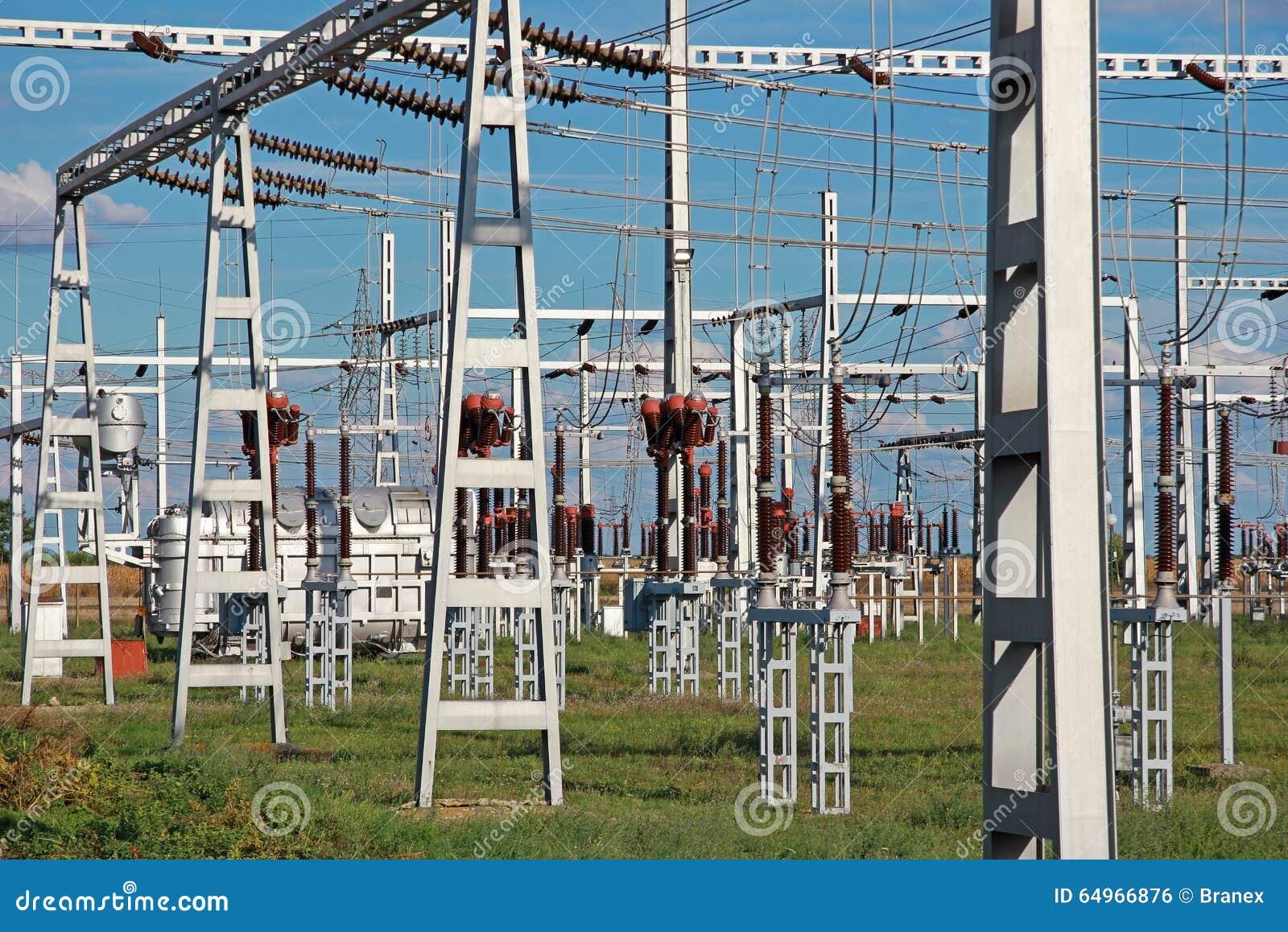 Wysokonapięciowy podstaci władzy transformator