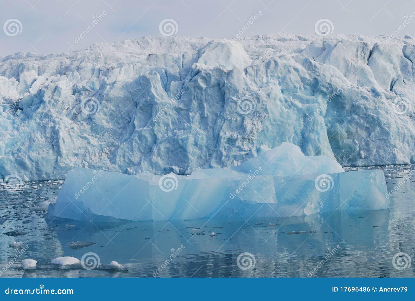 Wysp morza śnieg Svalbard