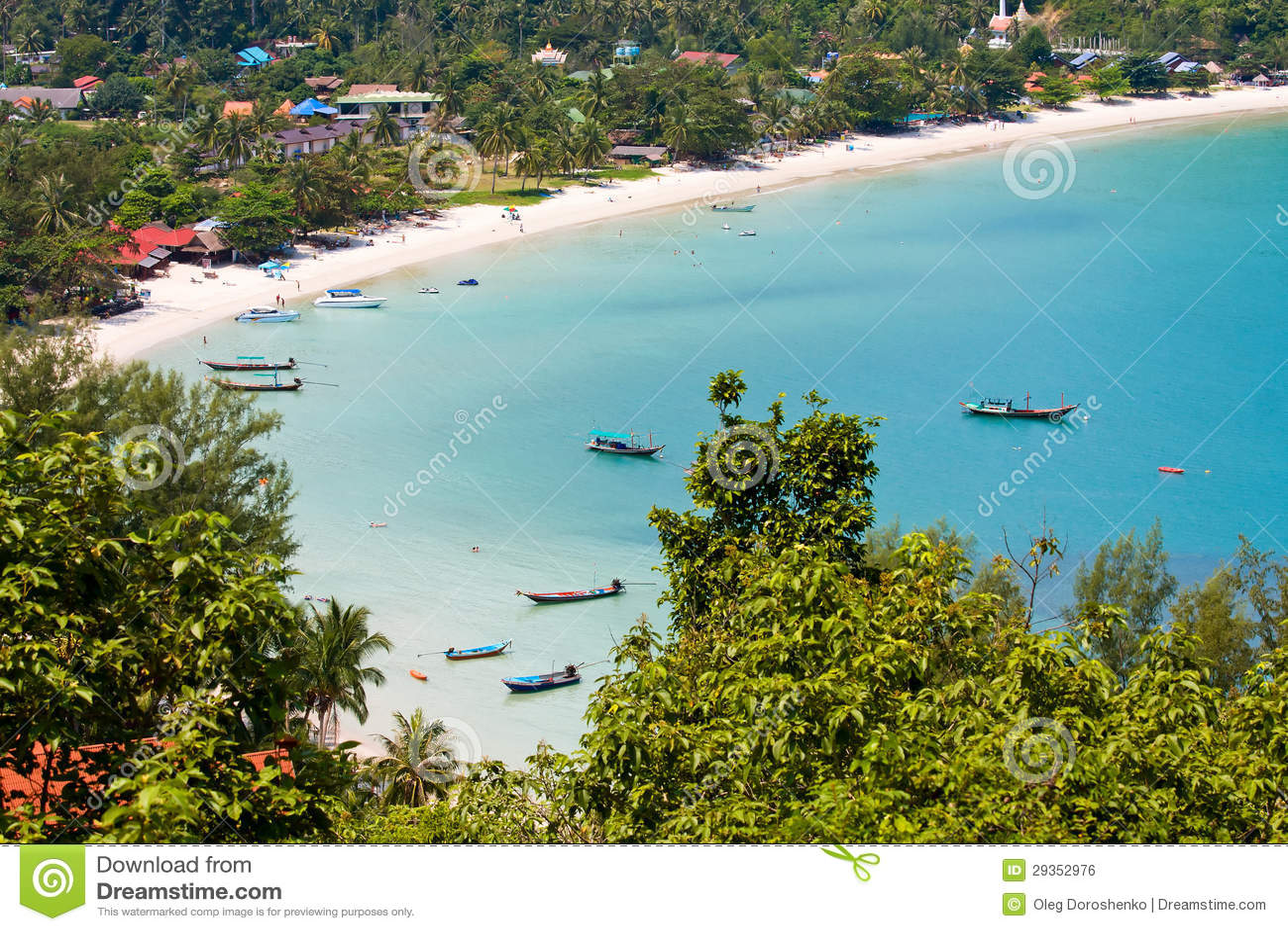 Wyspy Koh Phangan, Tajlandia.