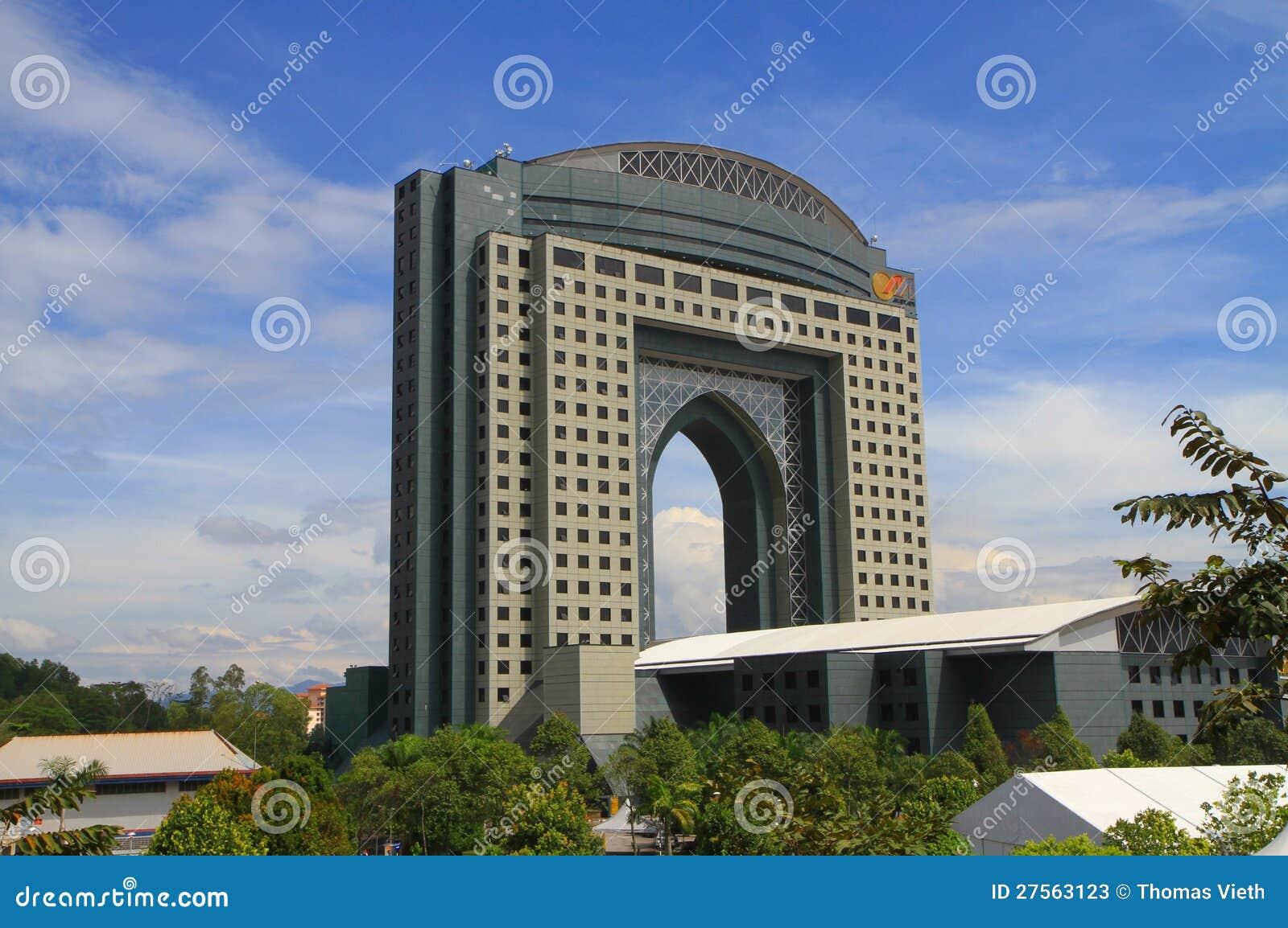 Wystawa Convention Center i Kuala Lumpur/
