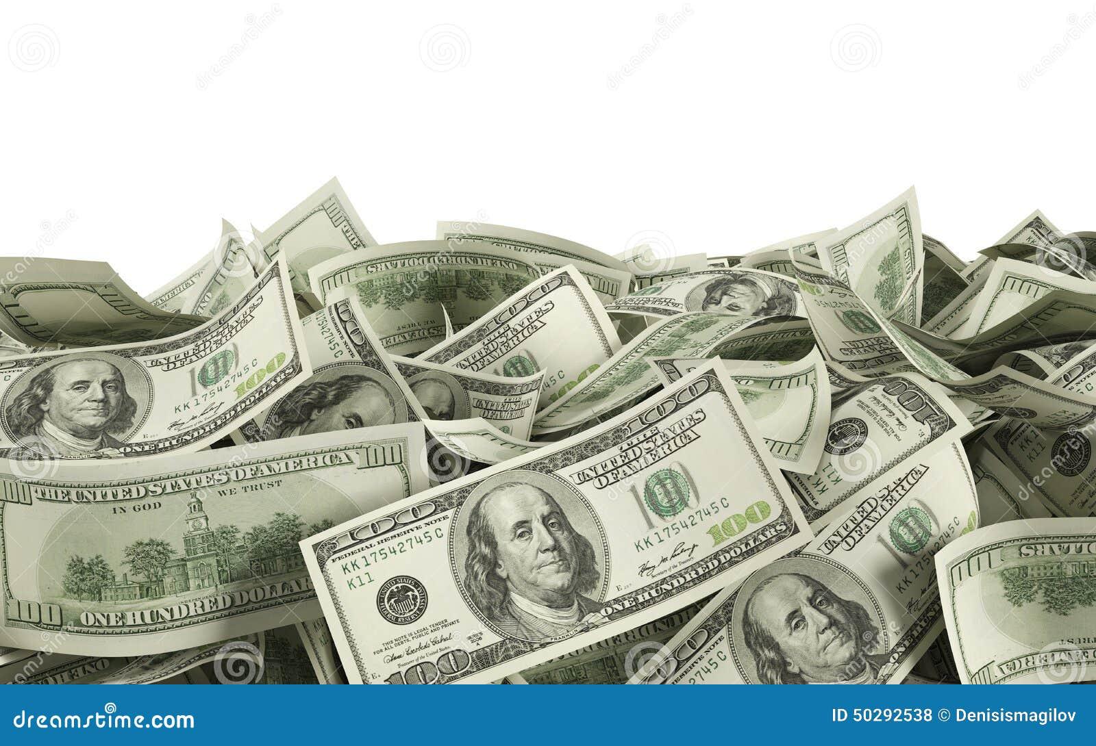 Wystawia rachunek dolara