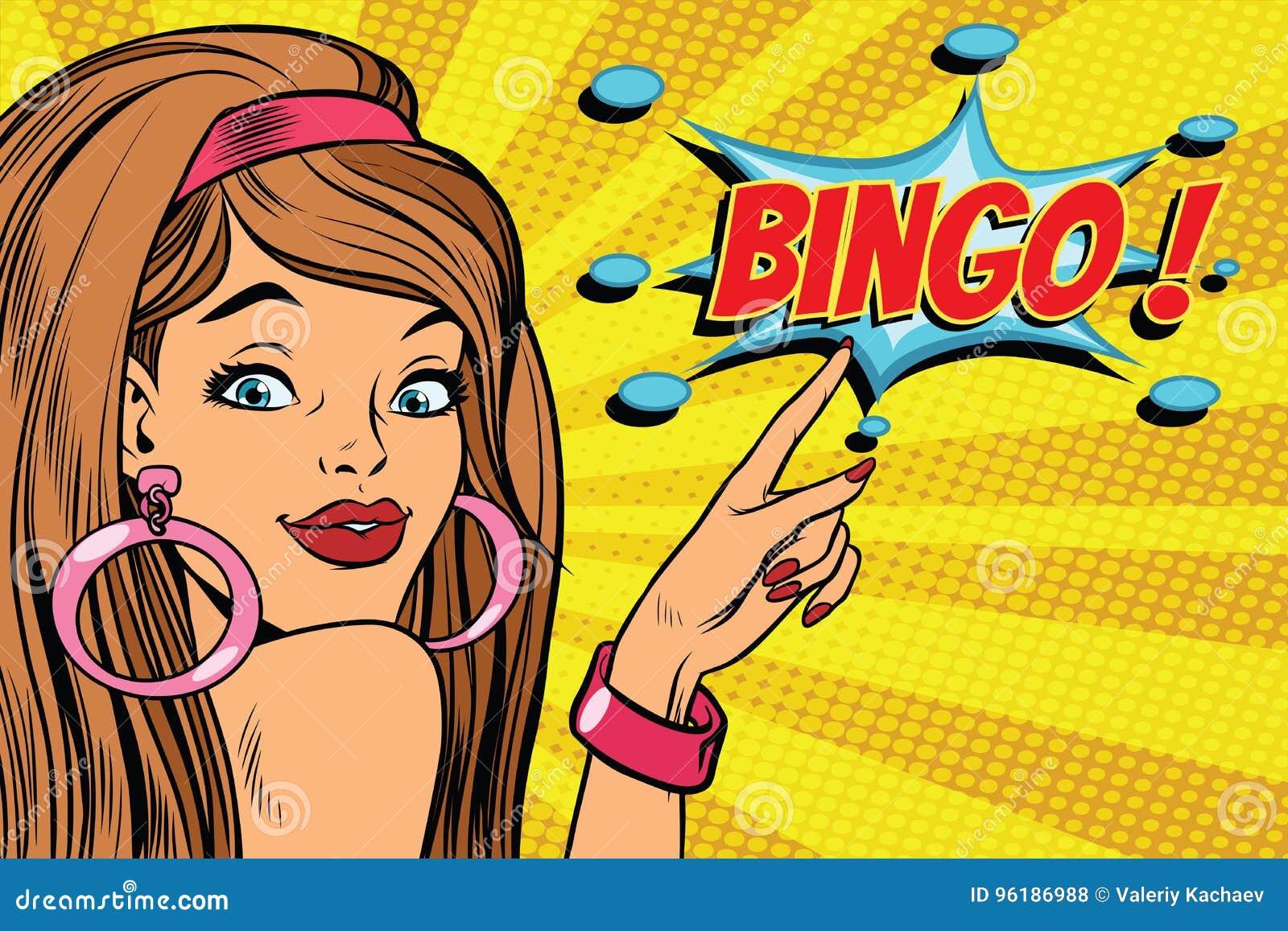 Wystrzał sztuki kobiety bingo
