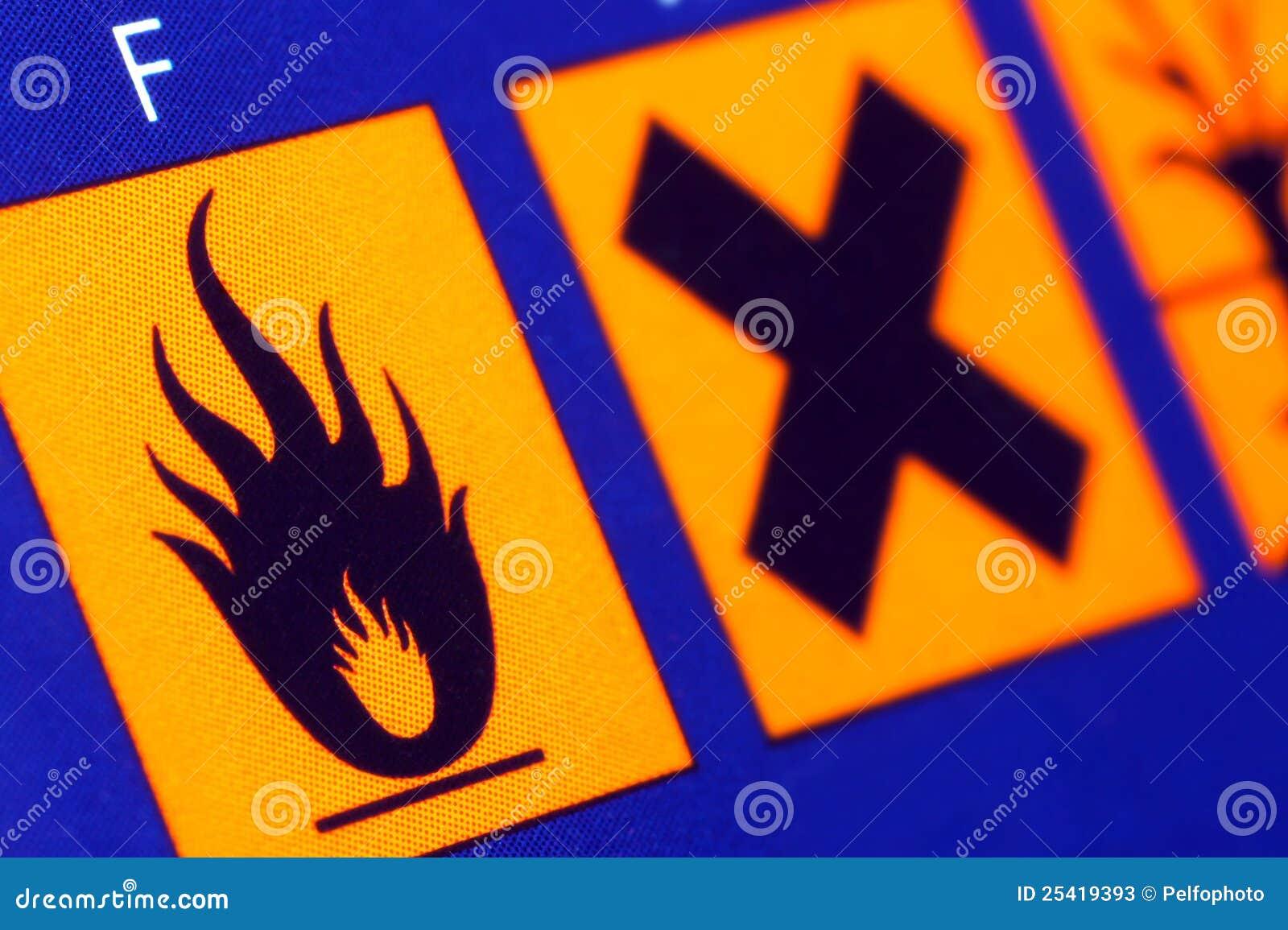 Wystrzega się flammable