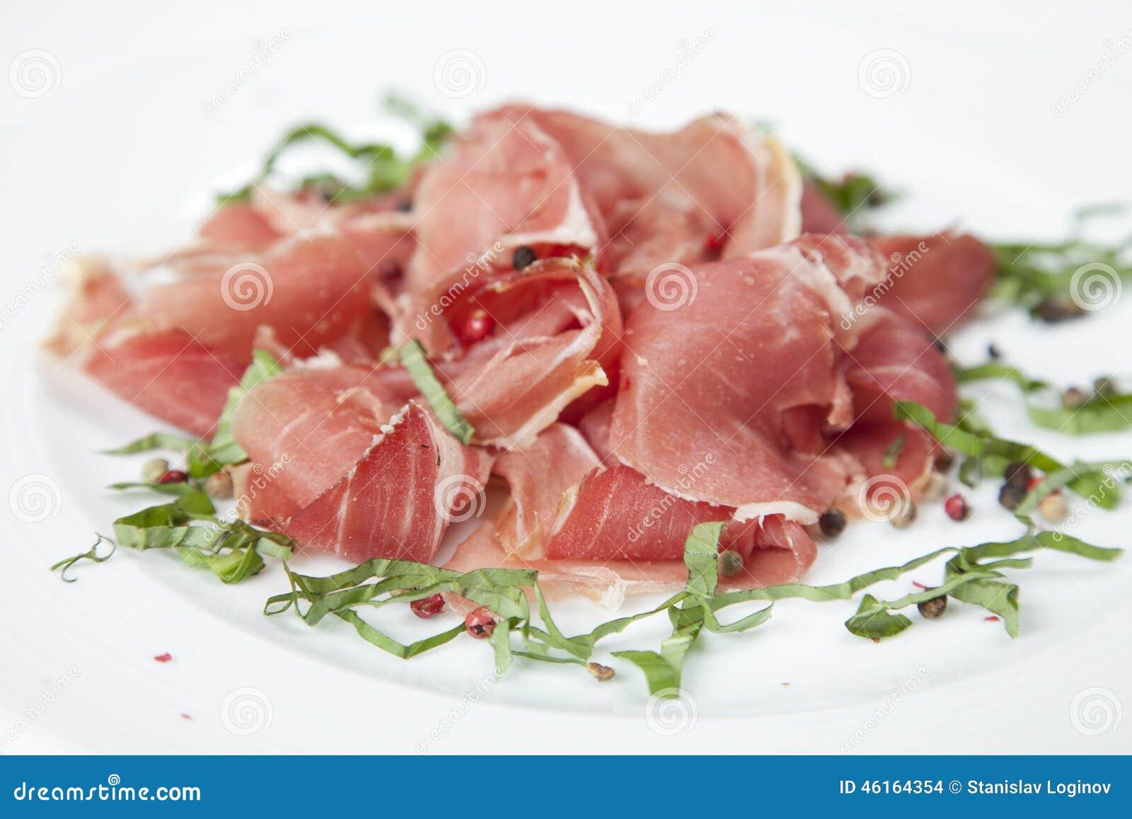 Wysuszona wieprzowiny sałatka