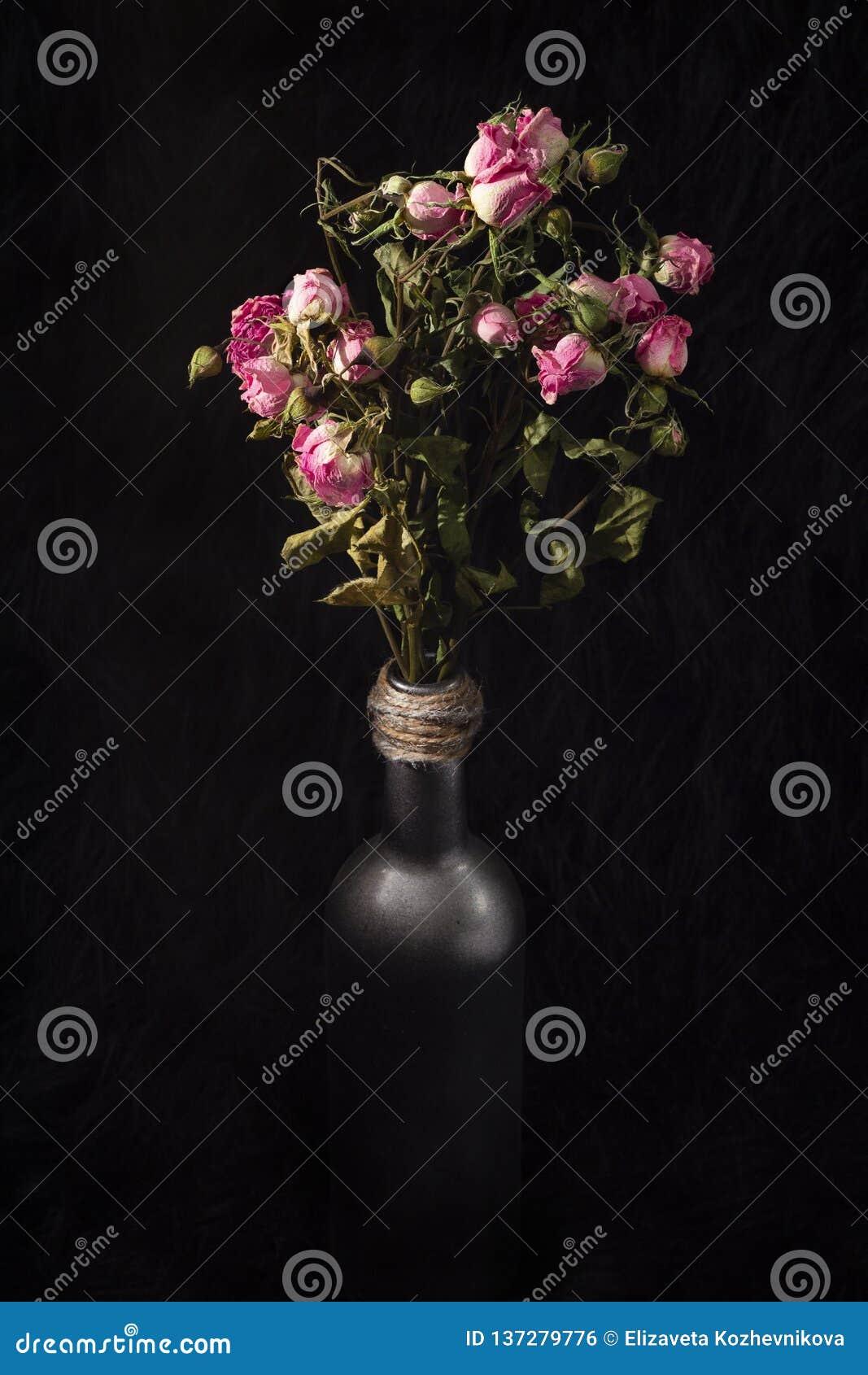 Wysuszone róże