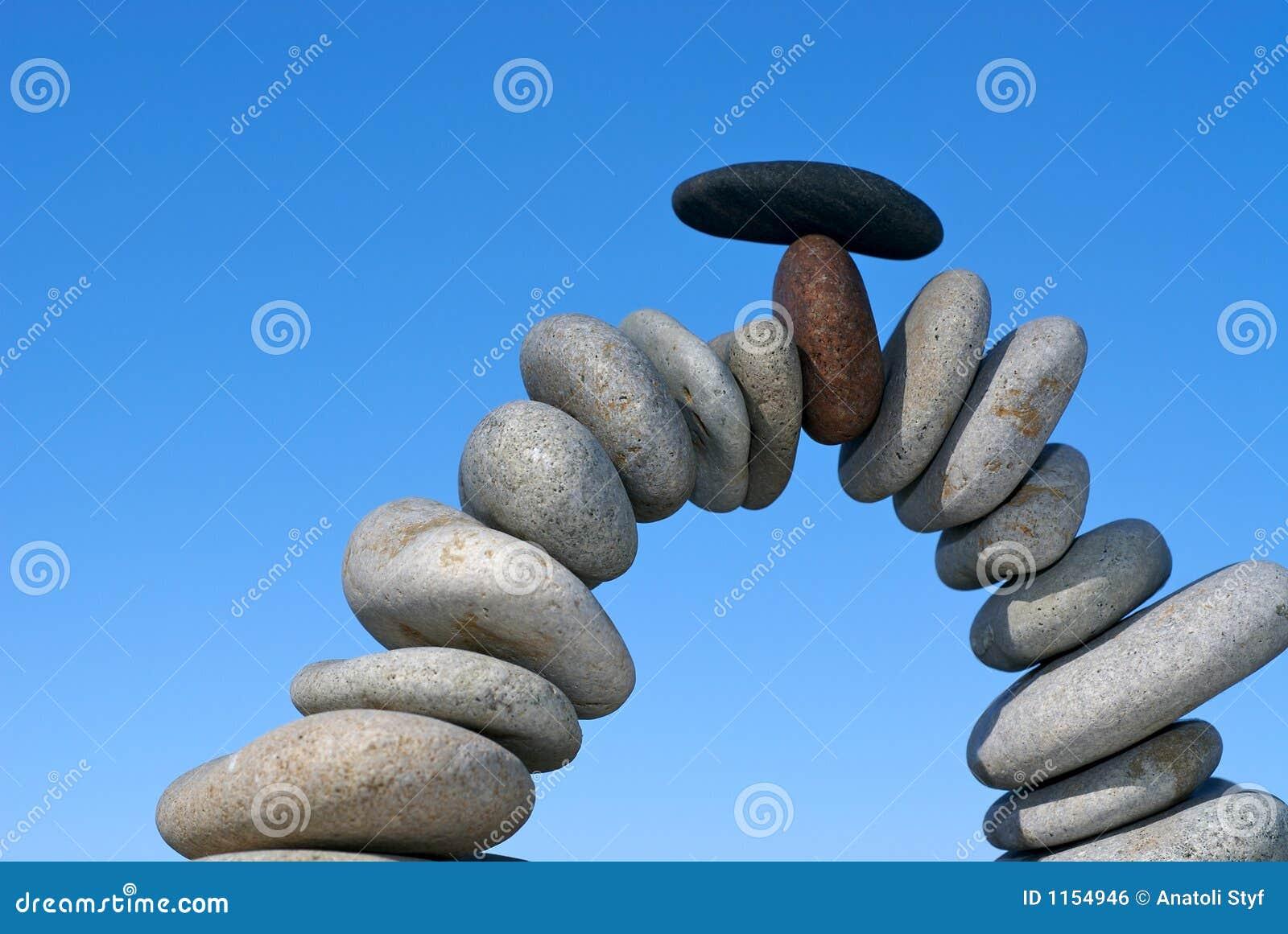Wyważone kamienie