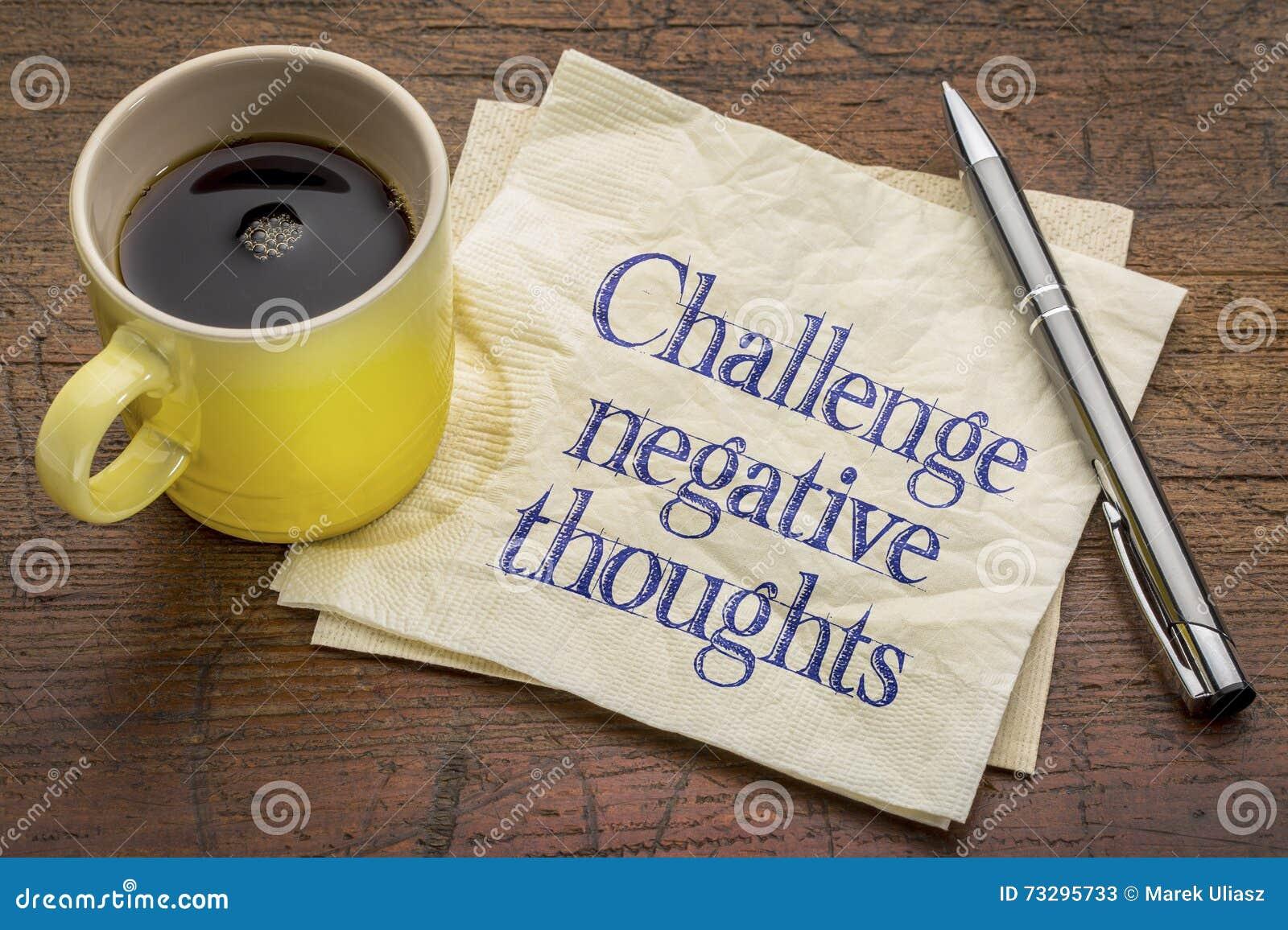 Wyzwanie negatywu myśli