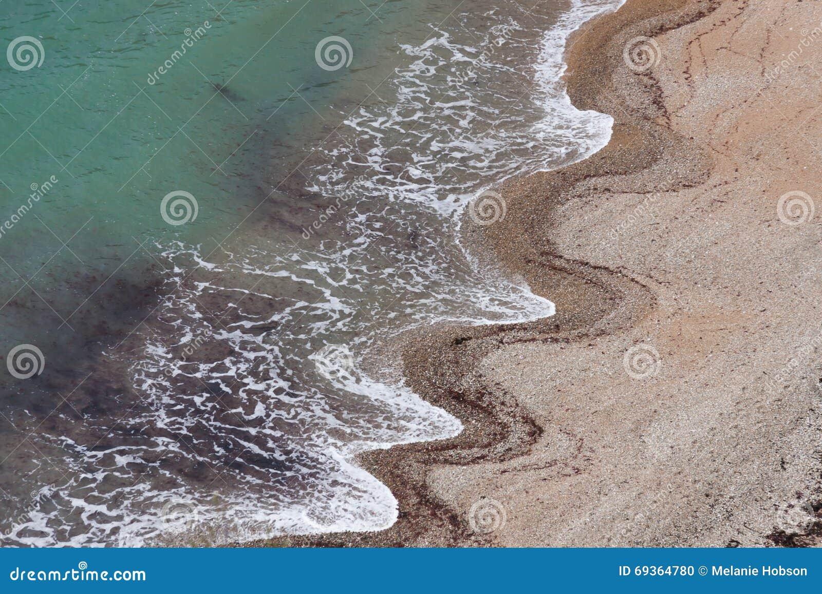 Wzór fali piasku