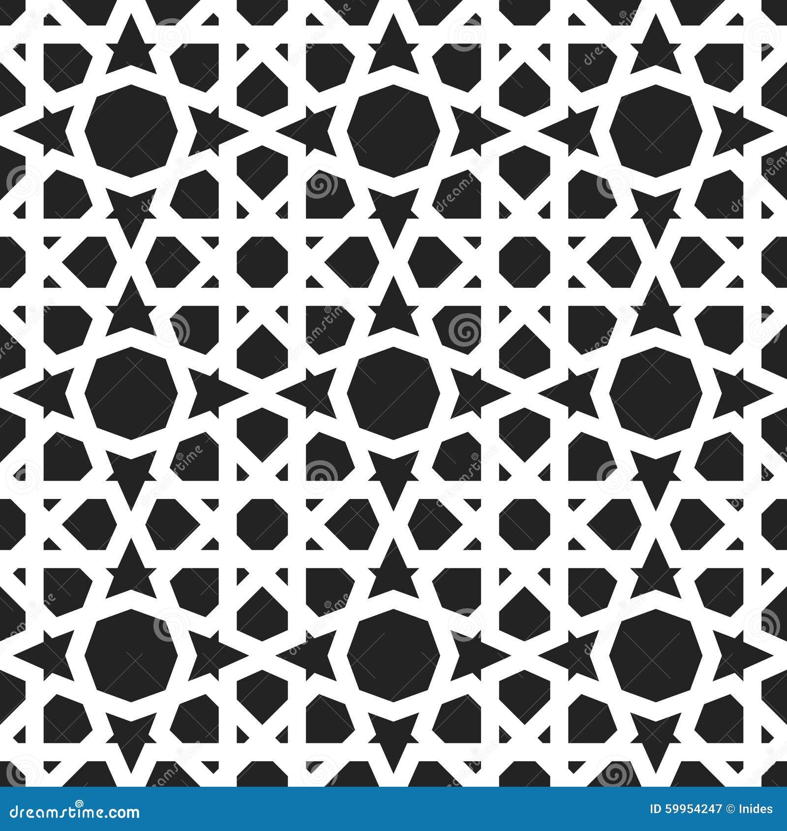 Wzór maroka Wschodni tradycyjny styl