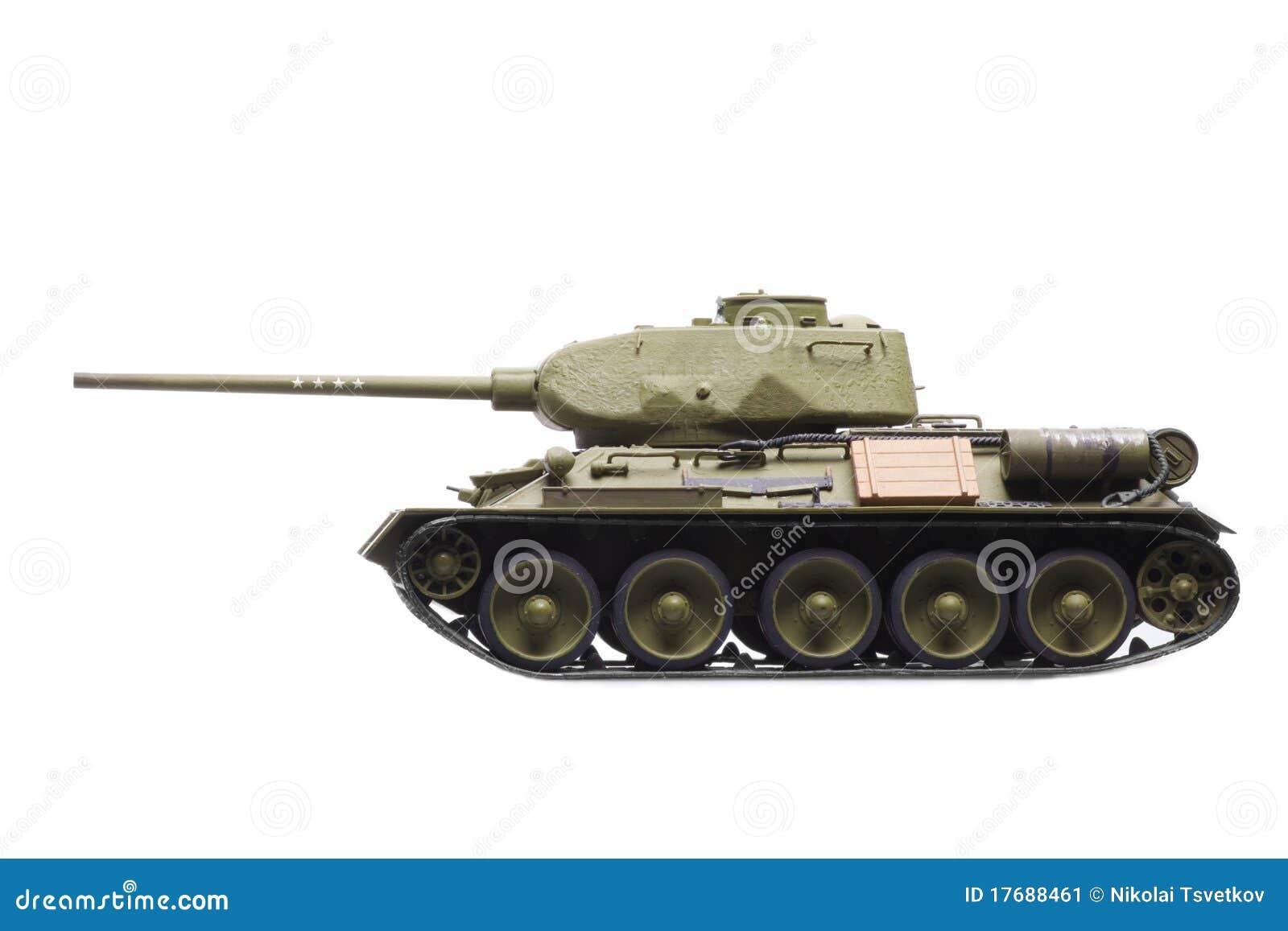 Wzorcowy sowiecki zbiornik