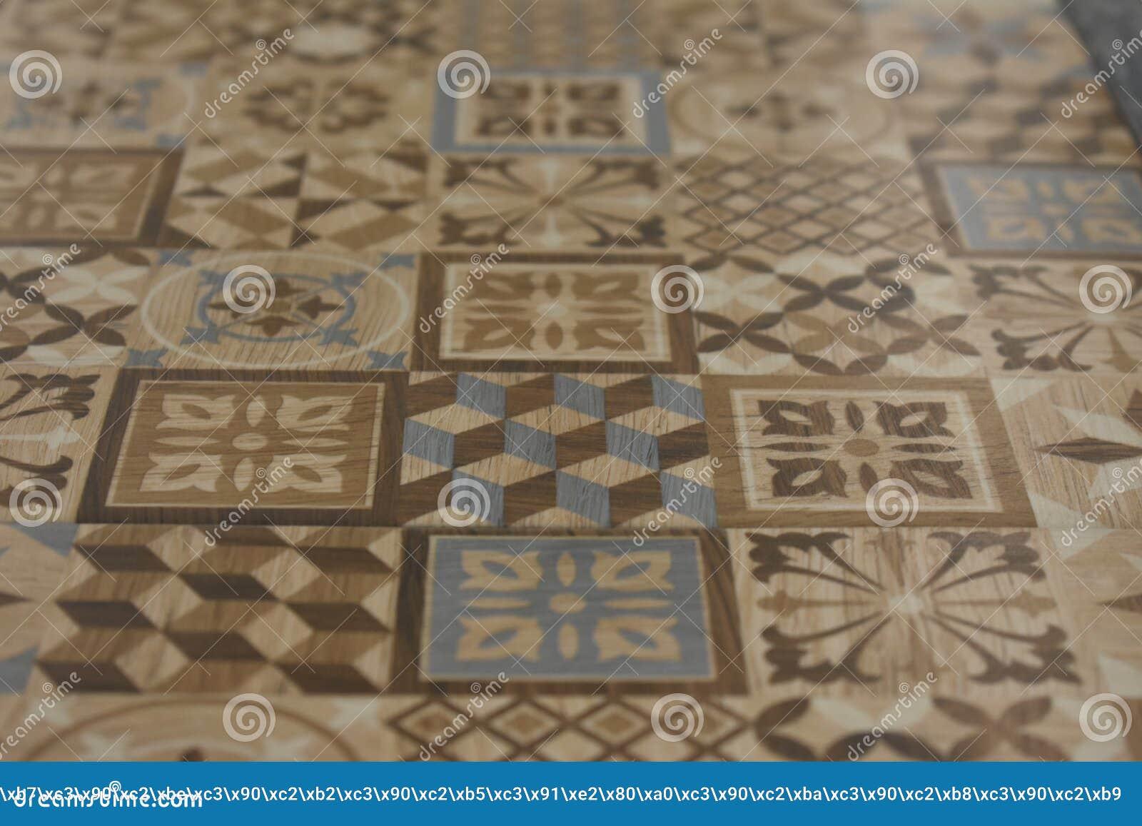 Wzory na ceramicznych płytkach Dekoracja wewnętrznych ścian projekt biurowi mieszkania