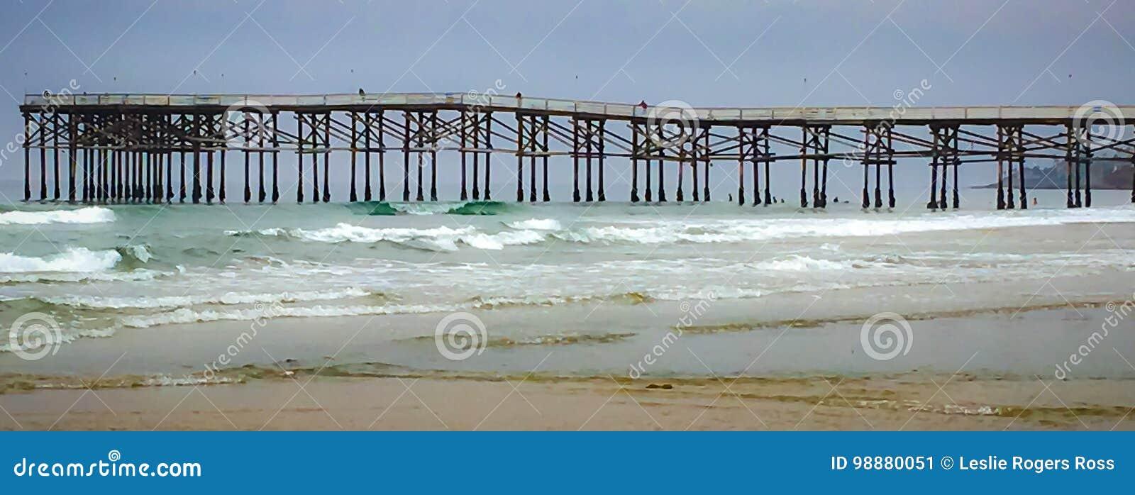 Wzory przy plażą