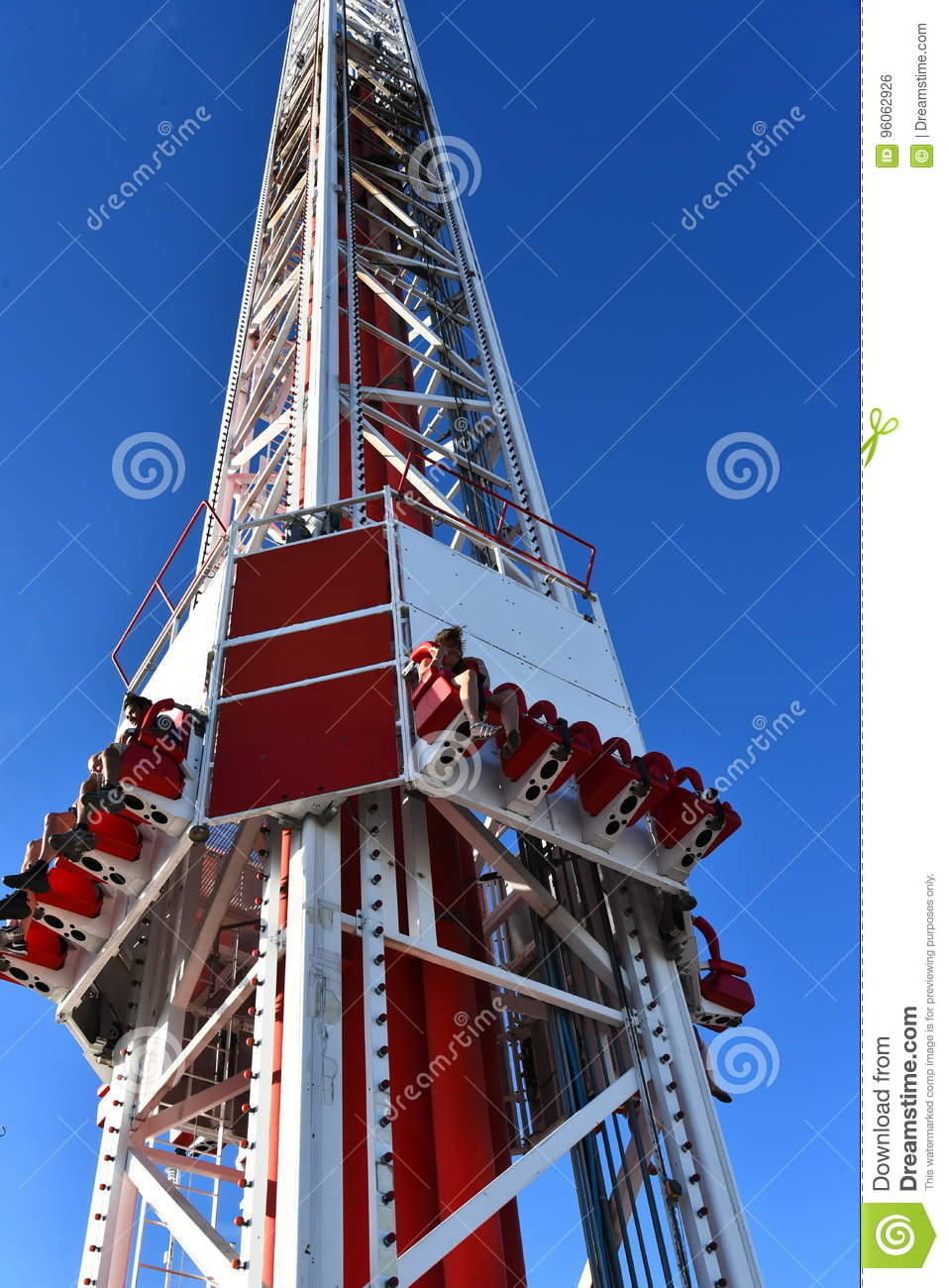 Thrill Ride Atop The Stratosphere Editorial Photo Image Of Weeeee