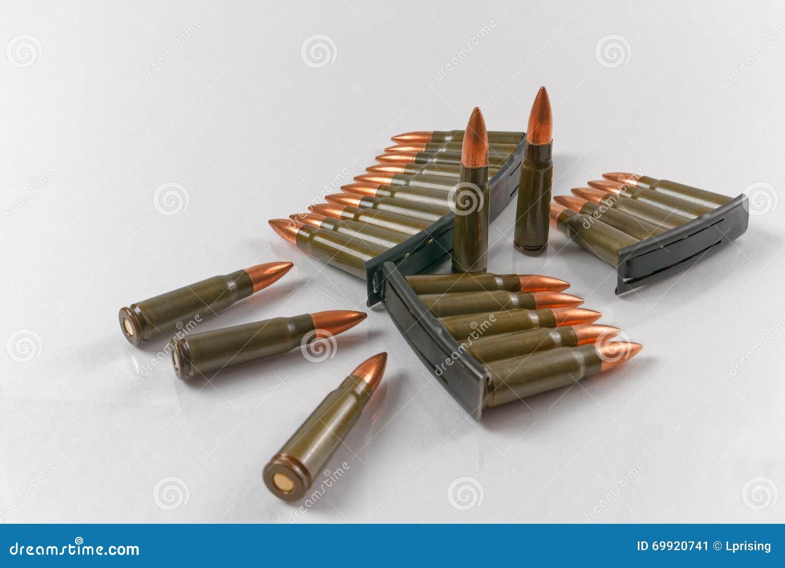 7.62x39 ammo on stripper clip