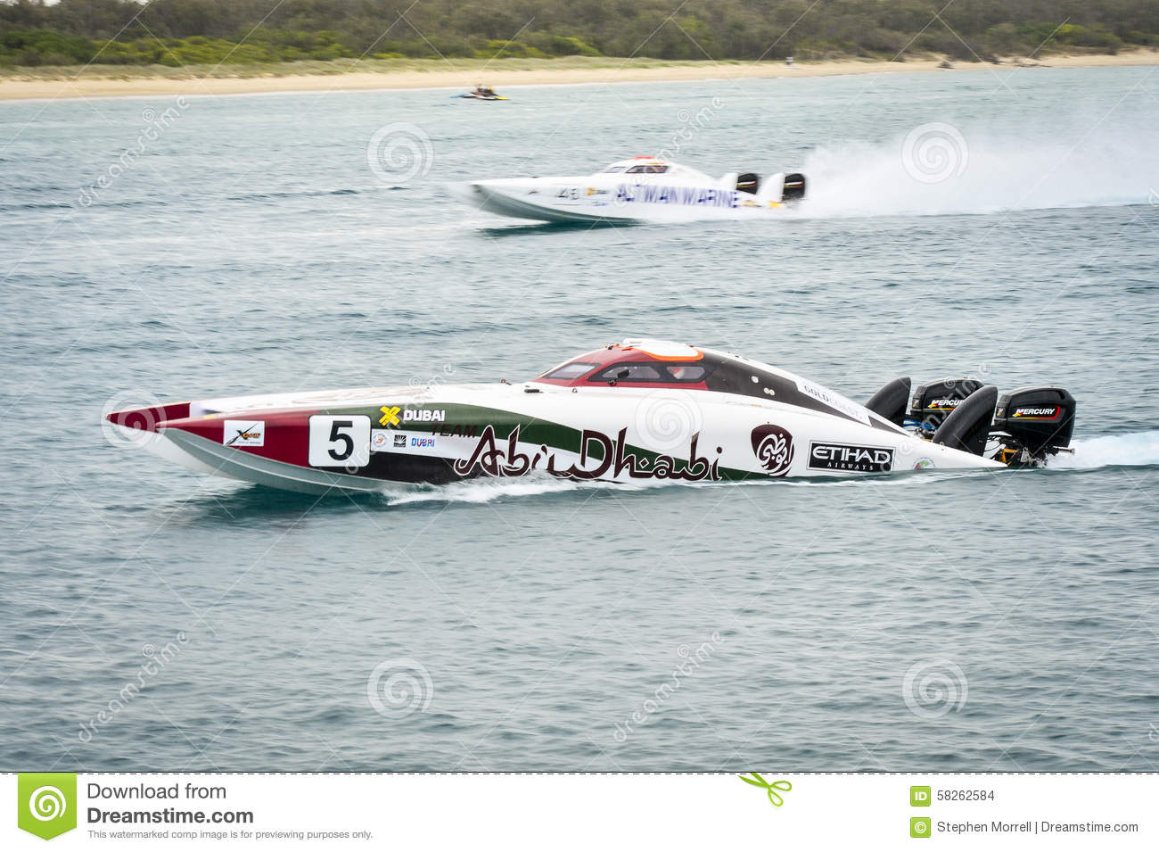 X-Cat Speed Boat editorial stock image  Image of racing