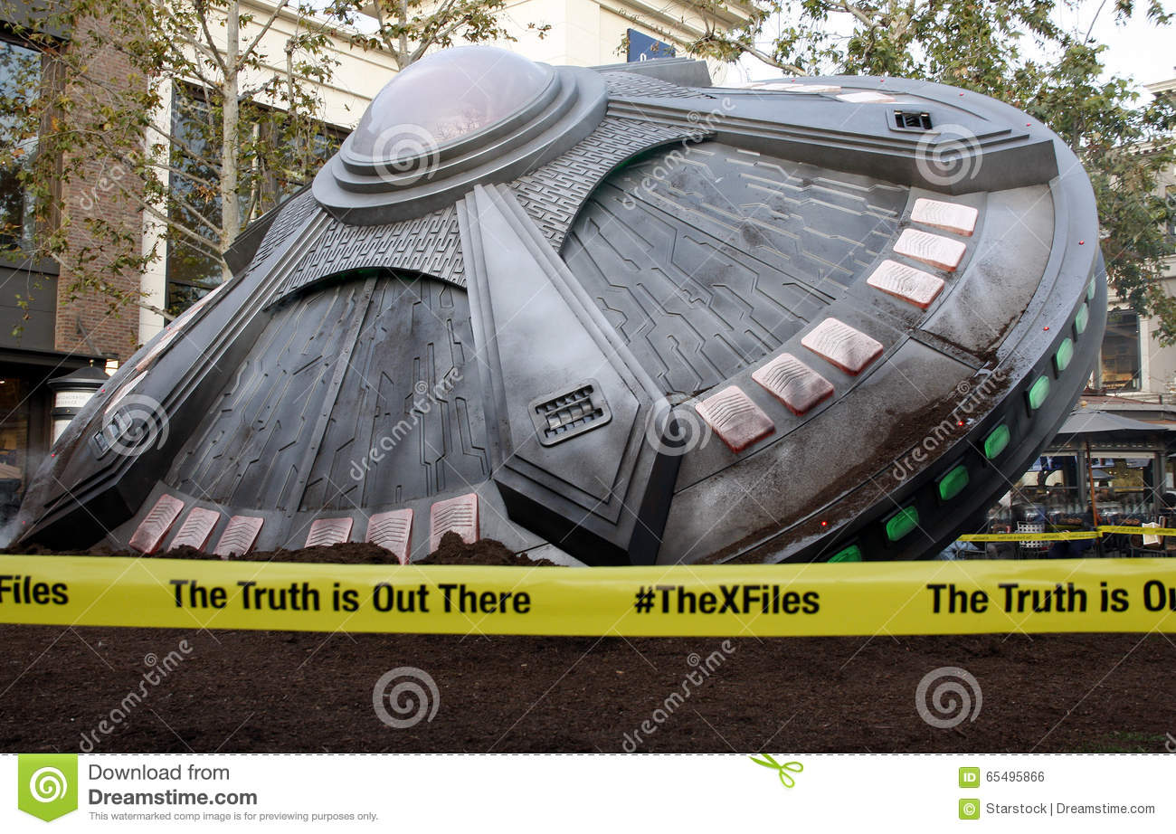 The X-Files' UFO Sighting editorial photo  Image of success