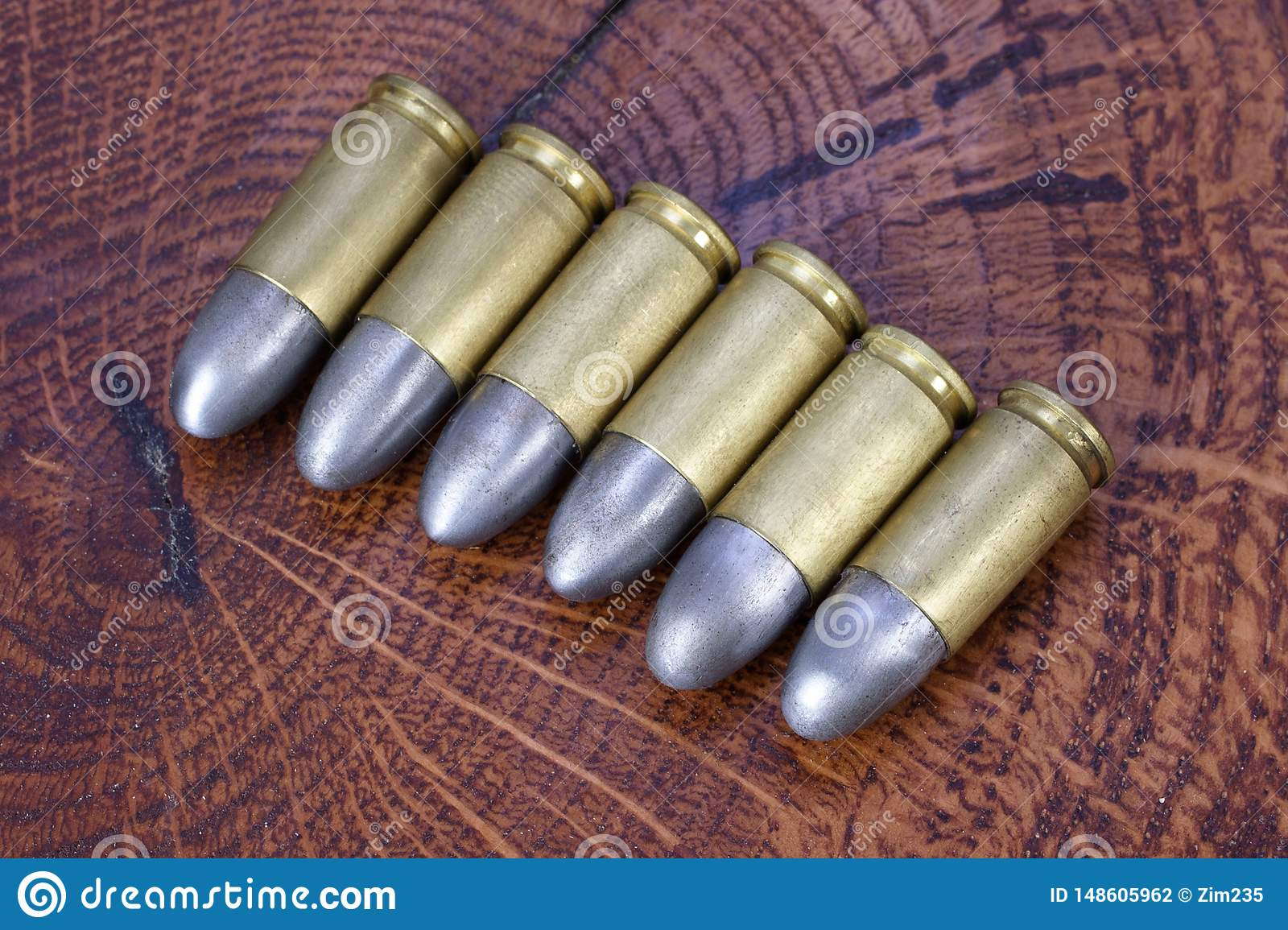 9x19mm Parabellum A Firearms Cartridges That Was Designed By