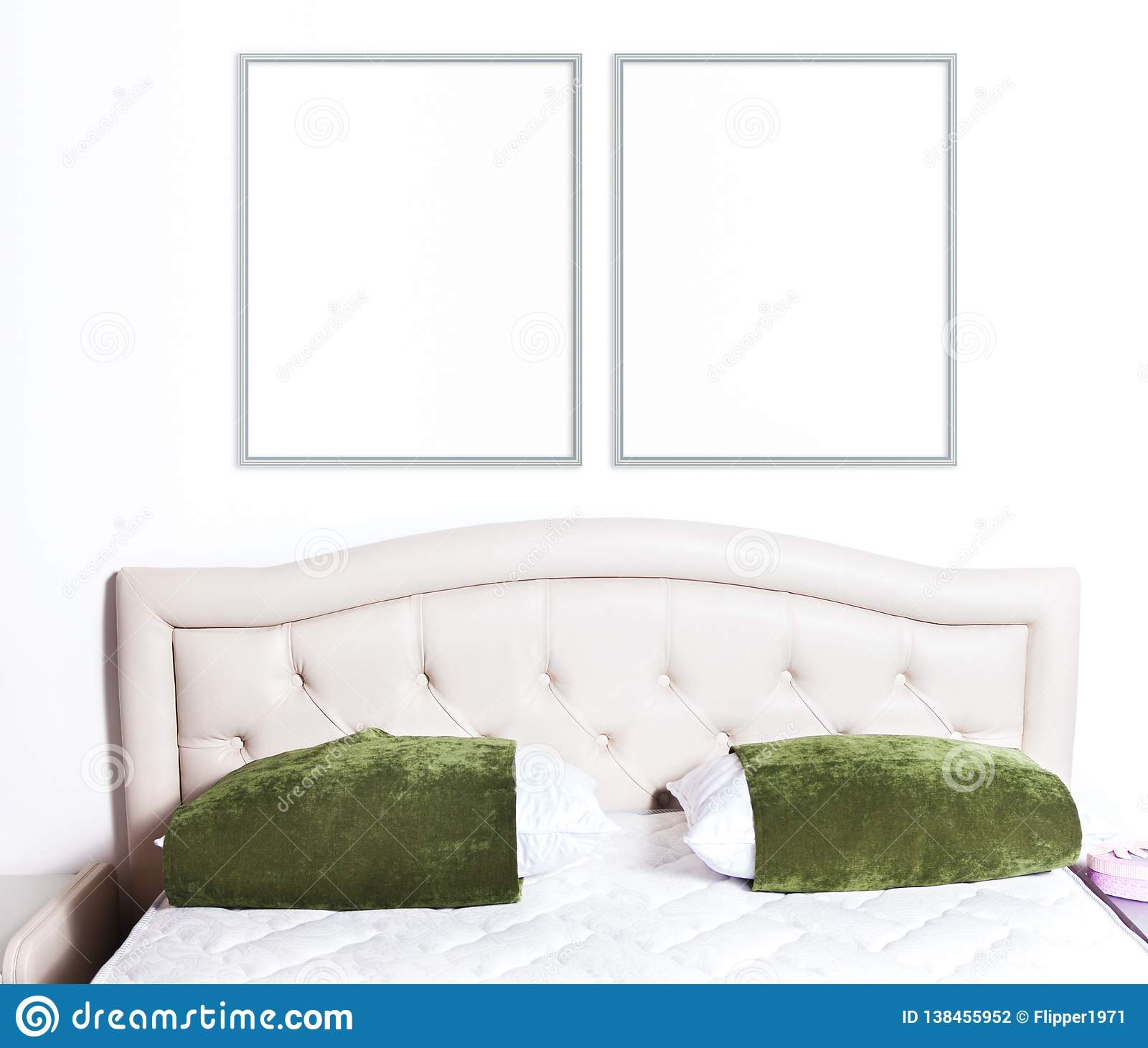 8x10 16x20 Two Thin Frames Mockup Stock Photo Image Of Frame Thin 138455952
