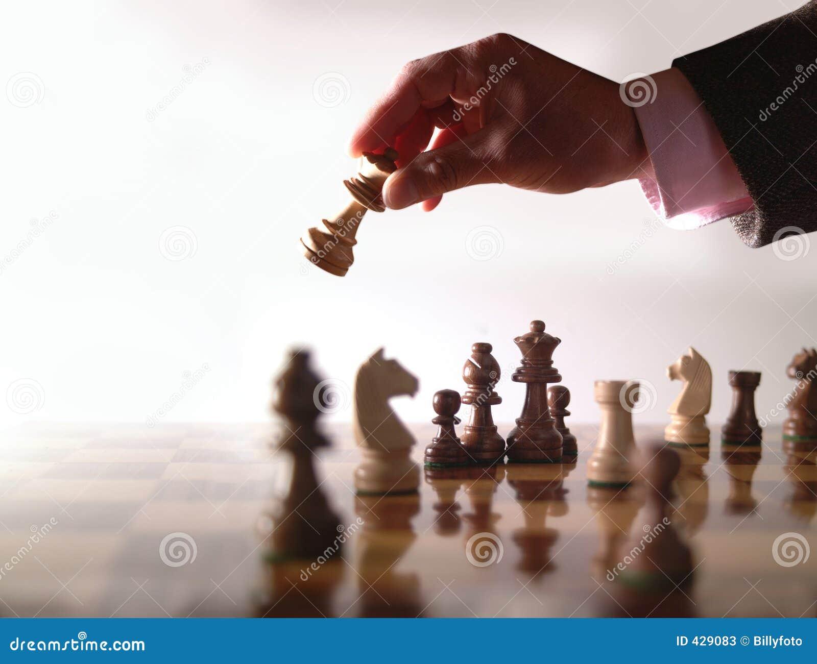 Xadrez e mão