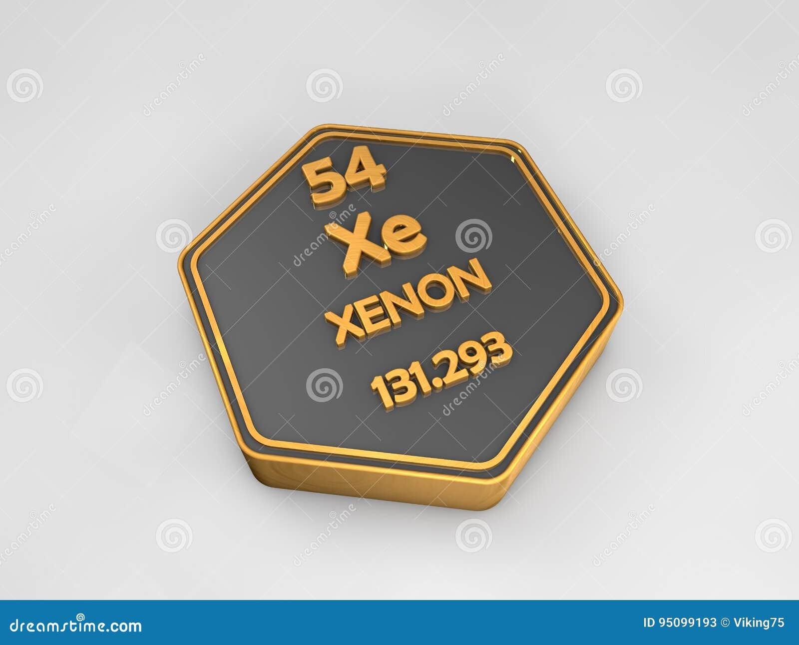 Xenn xe forma hexagonal de la tabla peridica del elemento download xenn xe forma hexagonal de la tabla peridica del elemento qumico stock de urtaz Images