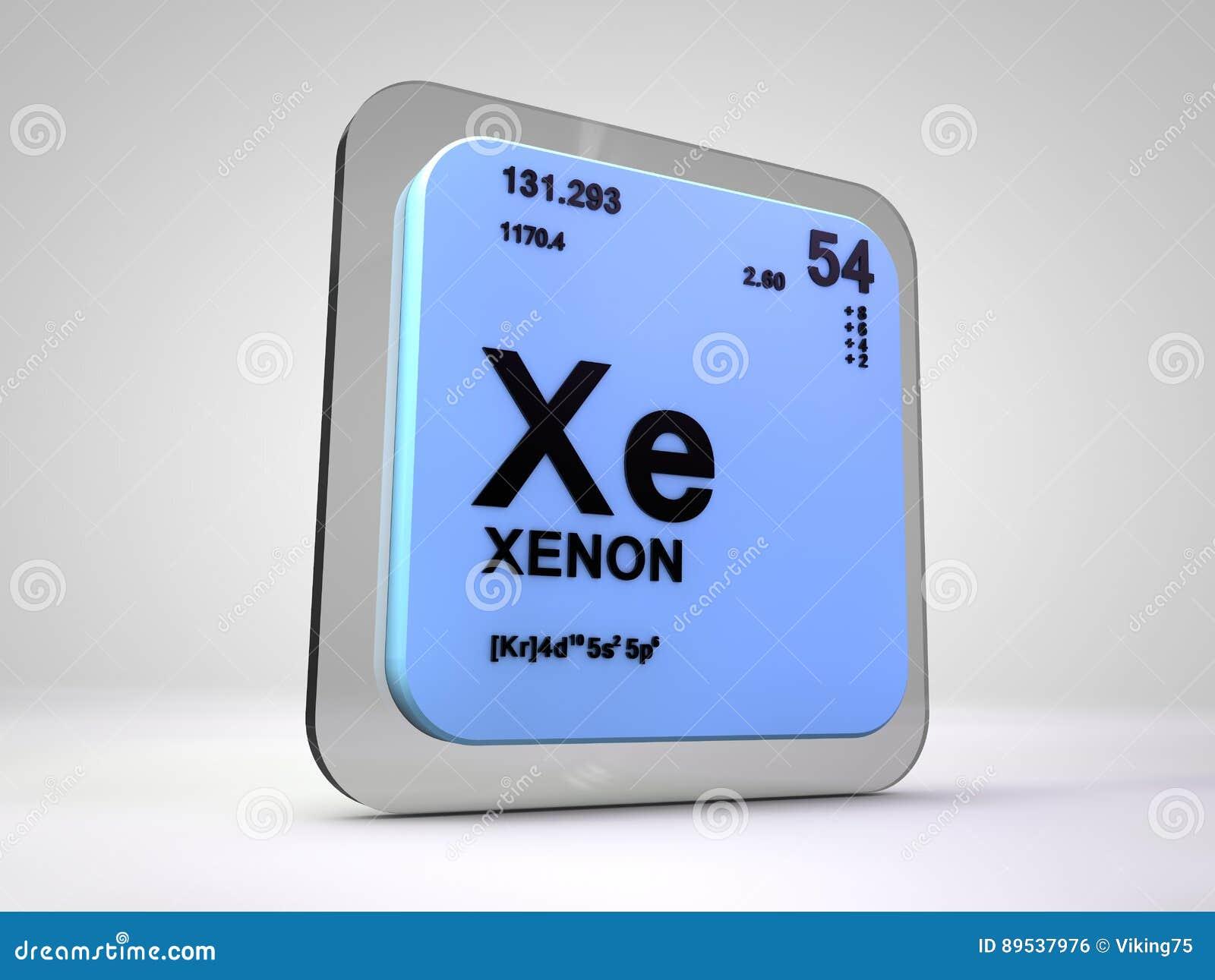 Xenn xe tabla peridica del elemento qumico stock de xenn xe tabla peridica del elemento qumico urtaz Images