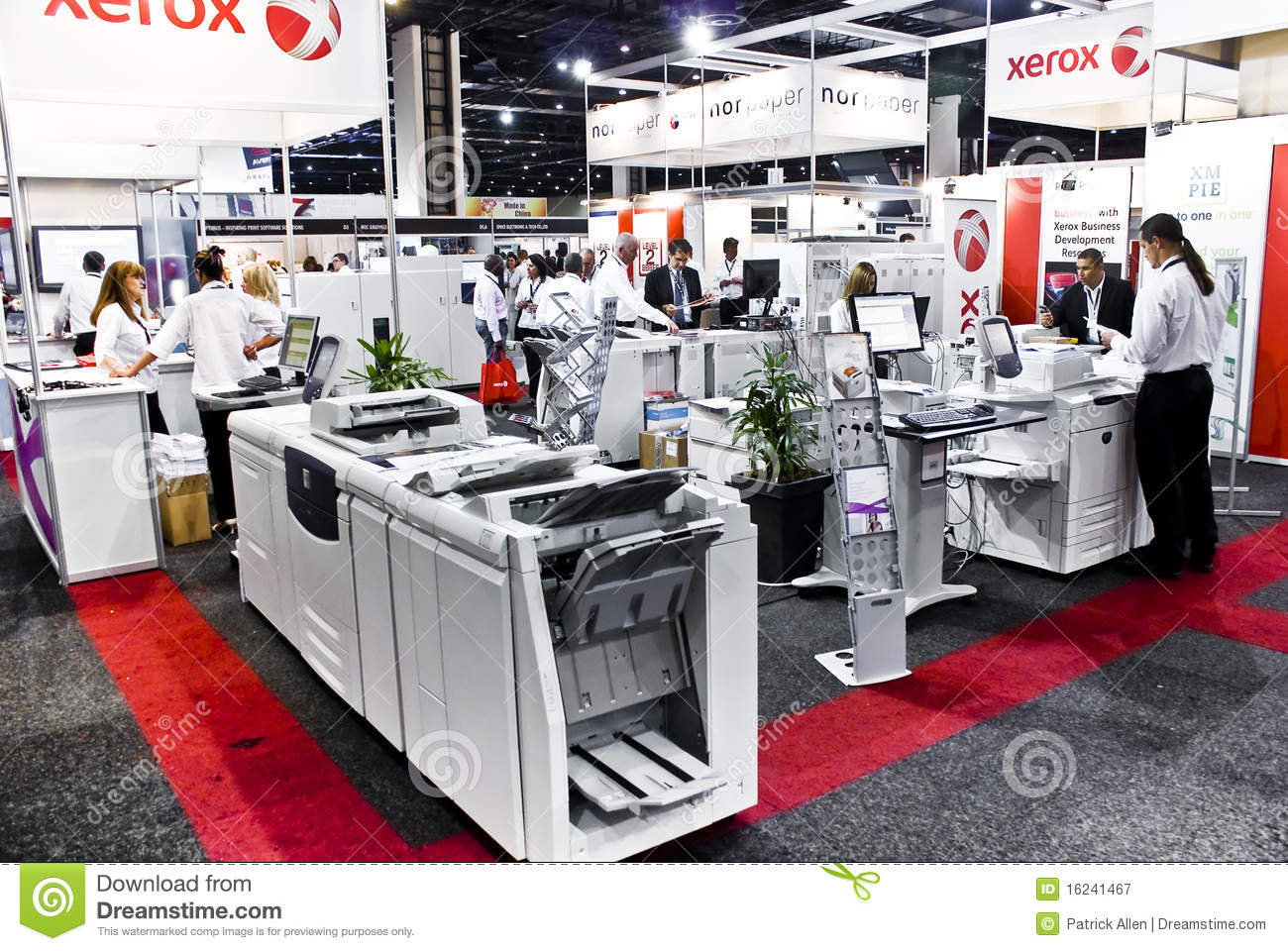 Xerox color laser printers - Xerox Colour Laser Printers Sign Africa Royalty Free Stock Photography