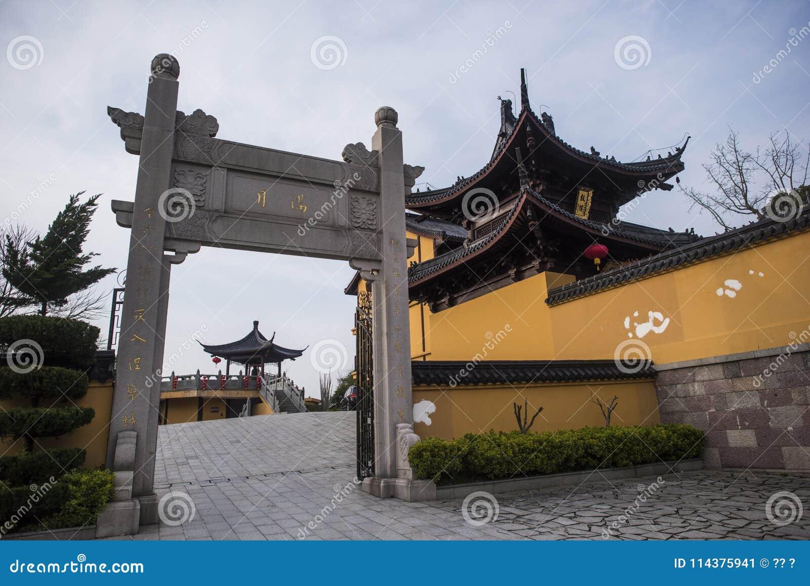 Xianshan湖风景点