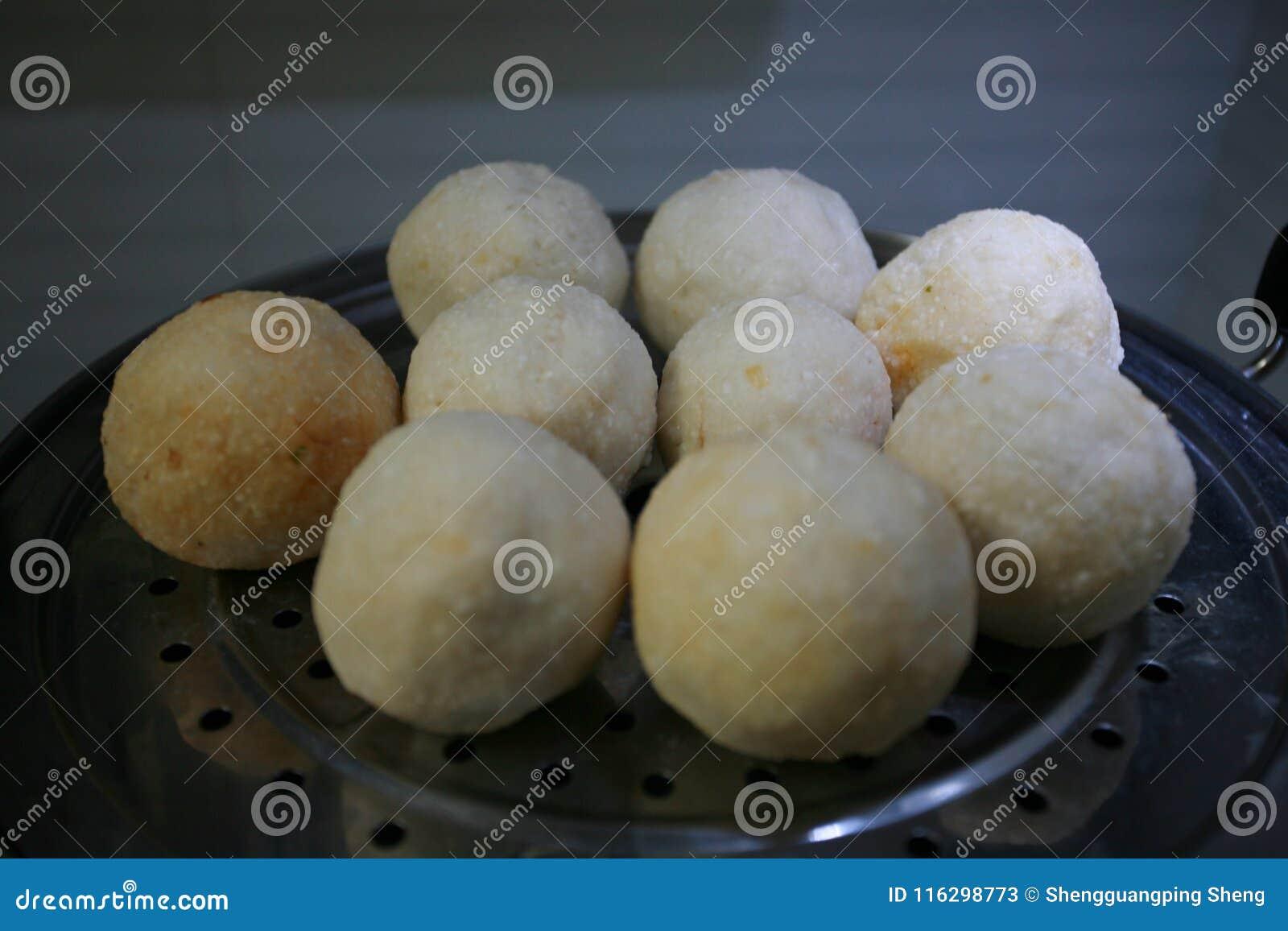 Xiantao smaku przekąska: ryż gomółka
