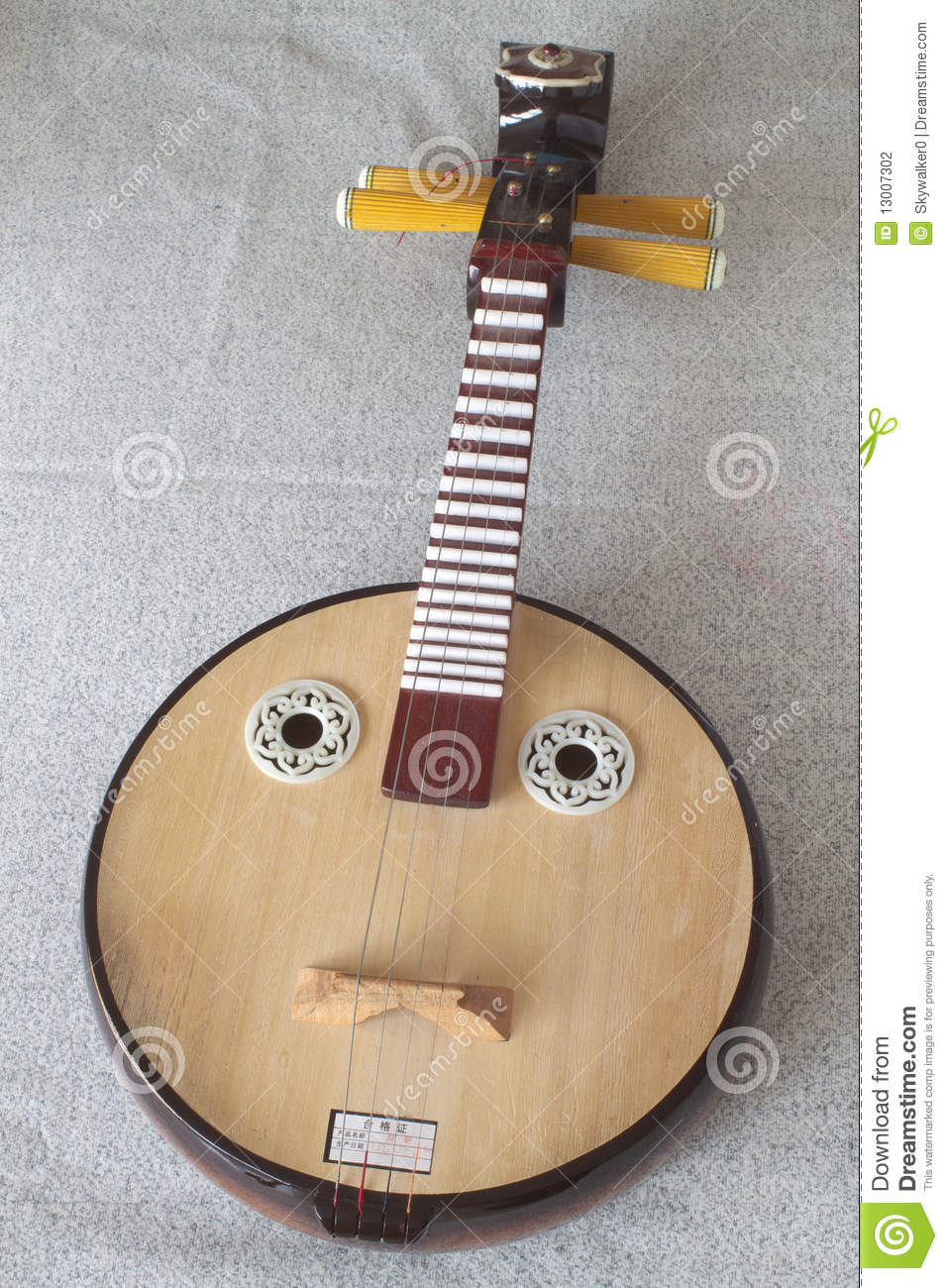 is a kind of ruan which belong to chinese traditional instrument ruan    Ruan Instrument