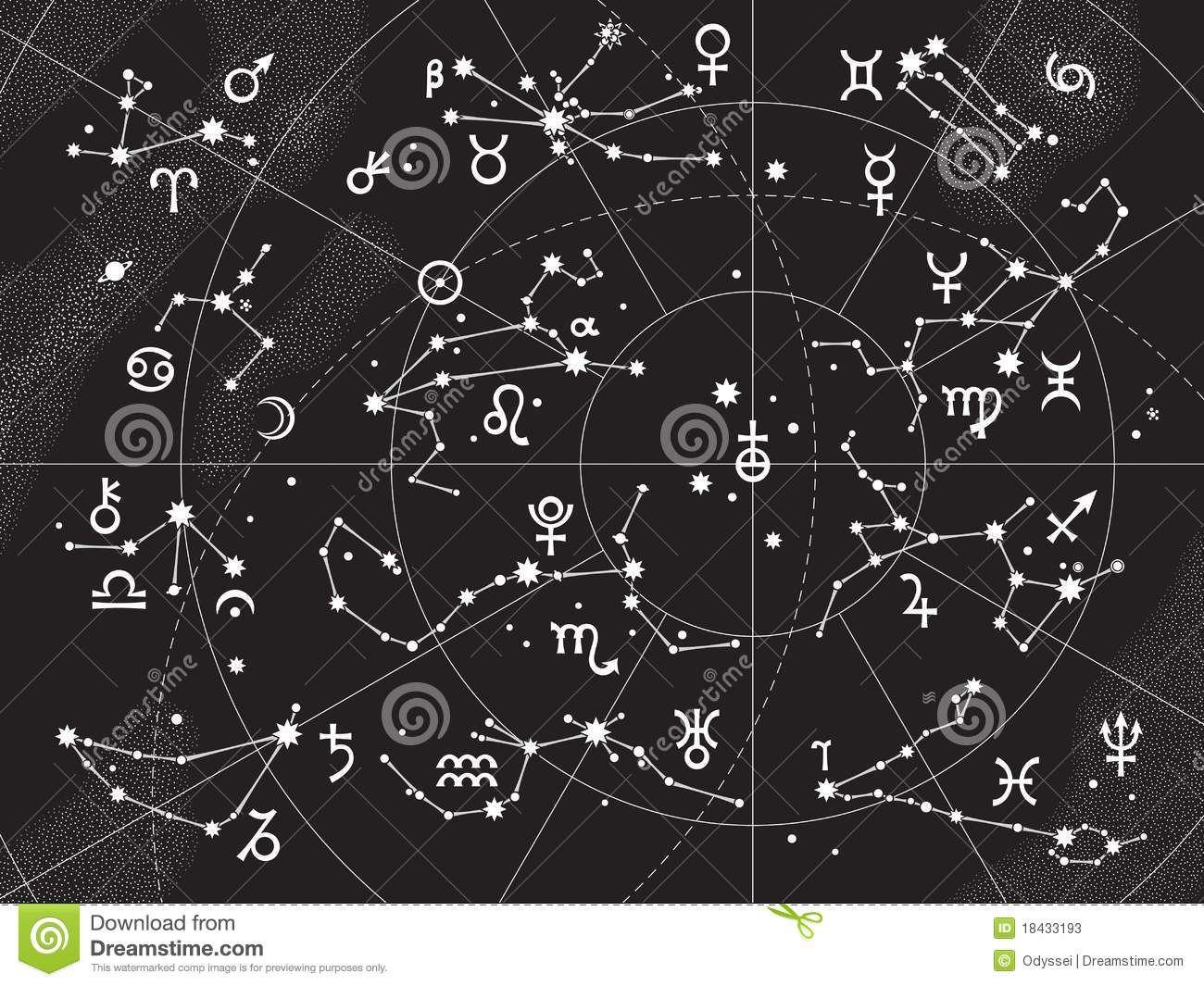 All Constellations Of The Zodiac XII Constellations of Zodiac