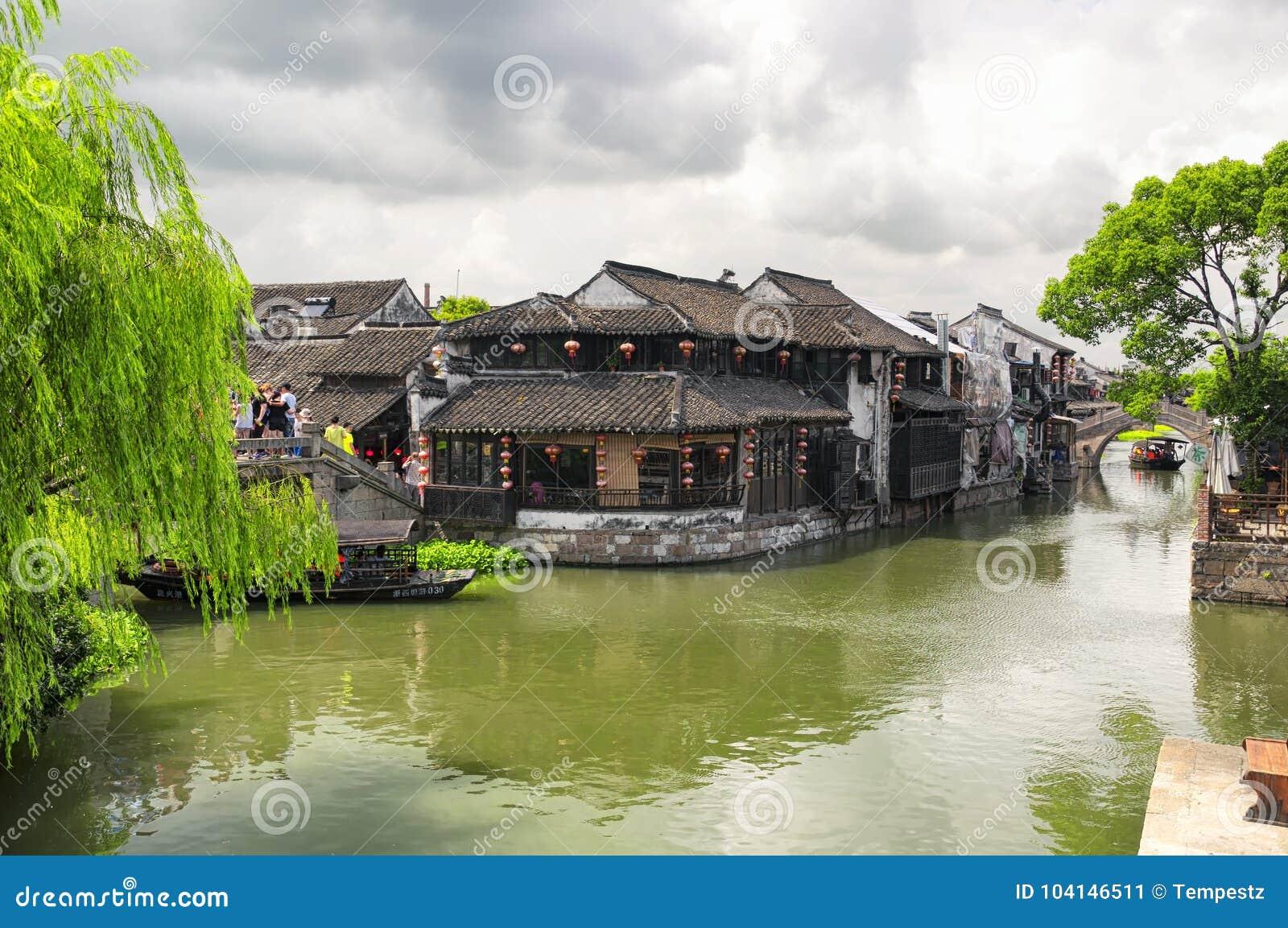 Xitang Water Town China scenic view