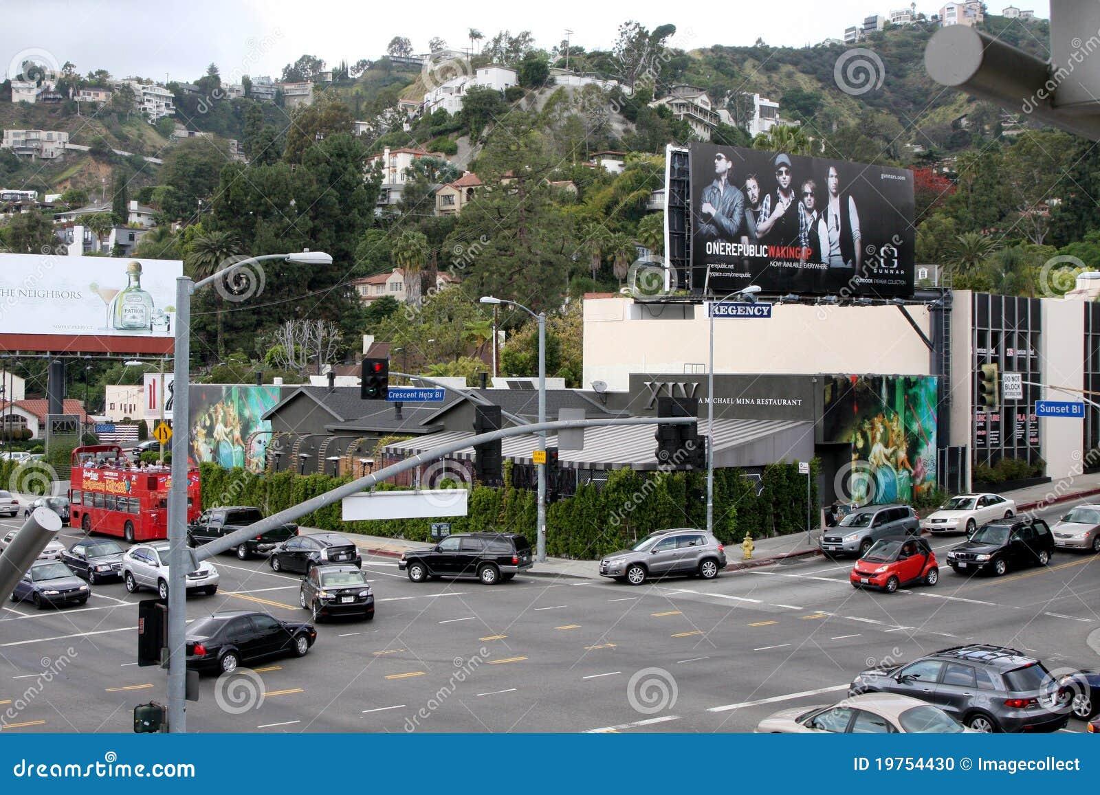 XIV extérieurs de Resturant Hollywood