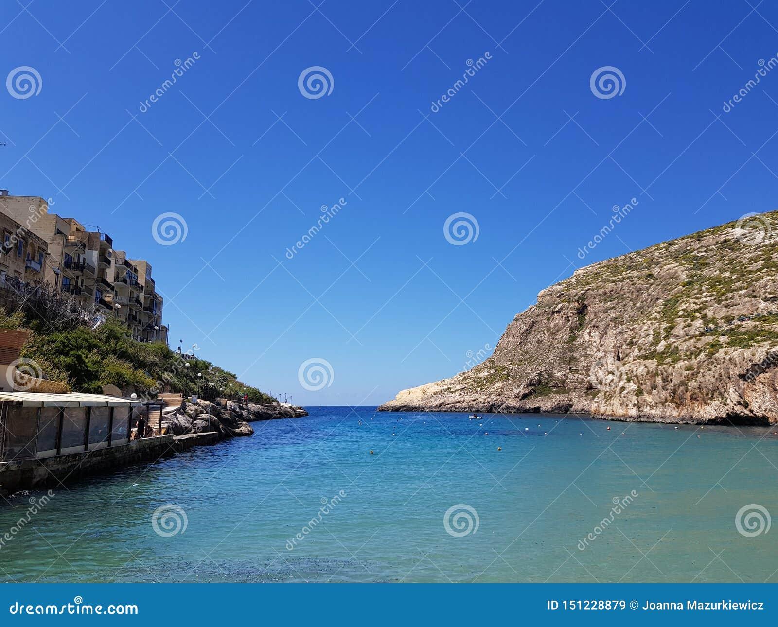 Xlendi zatoka, Gozo, Malta