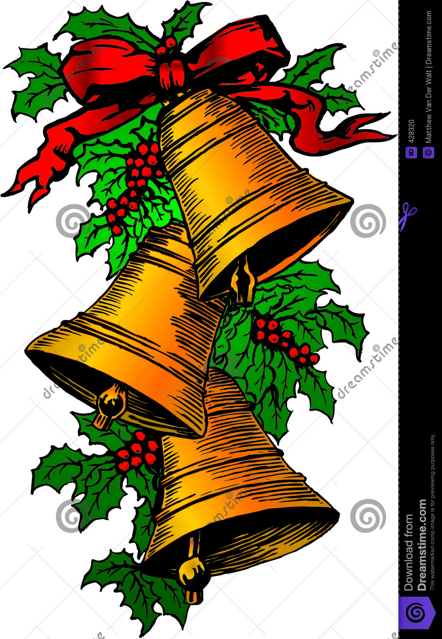 More similar stock images of xmas bells and holly