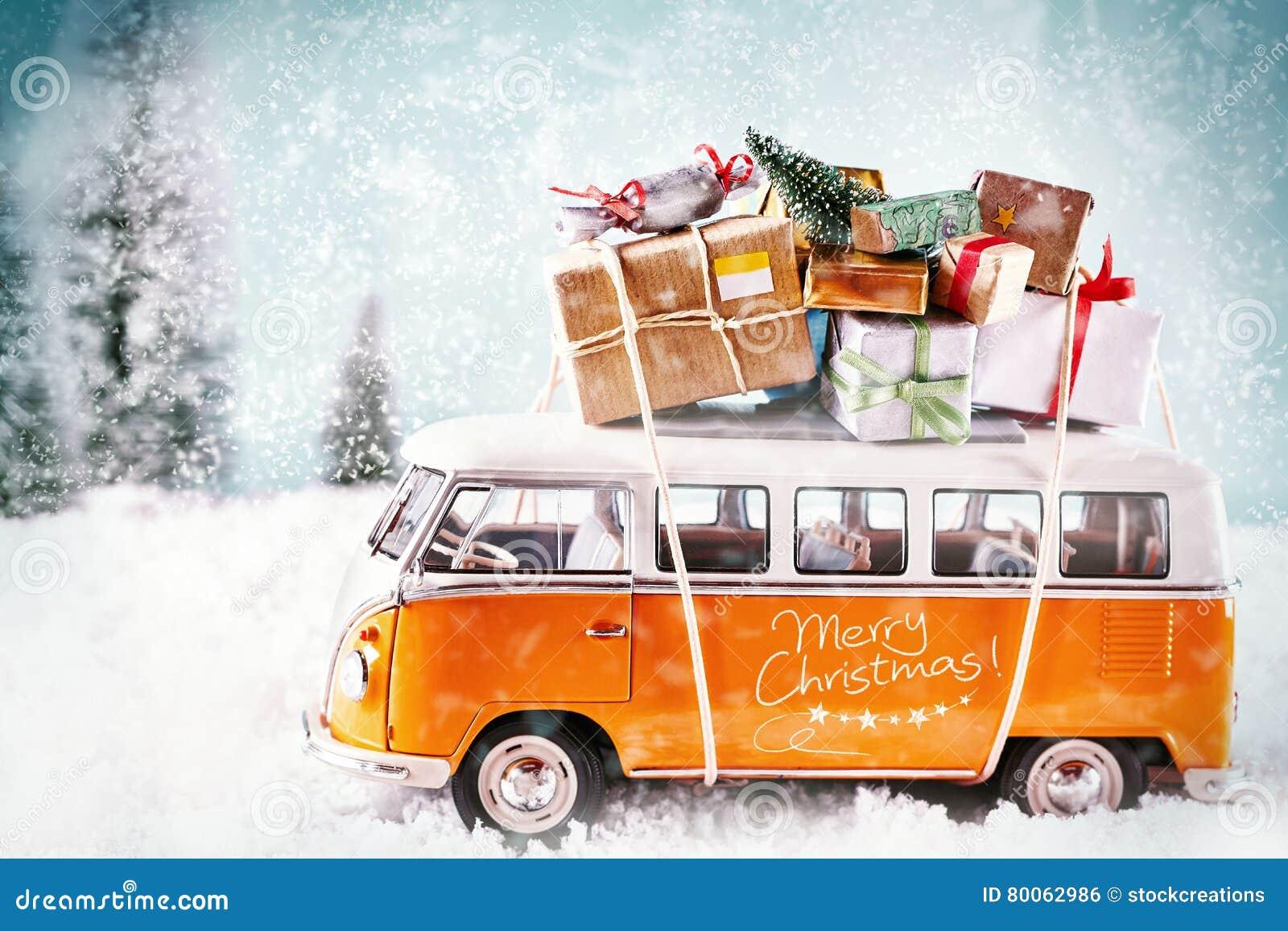 Xmas-bussen i vintersäsong