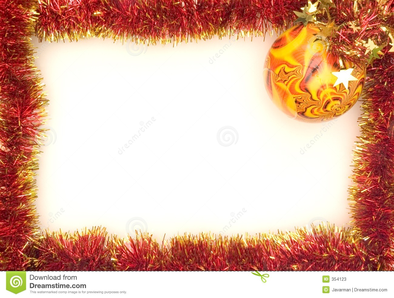 Xmas Frame Stock Photos - Image: 354123