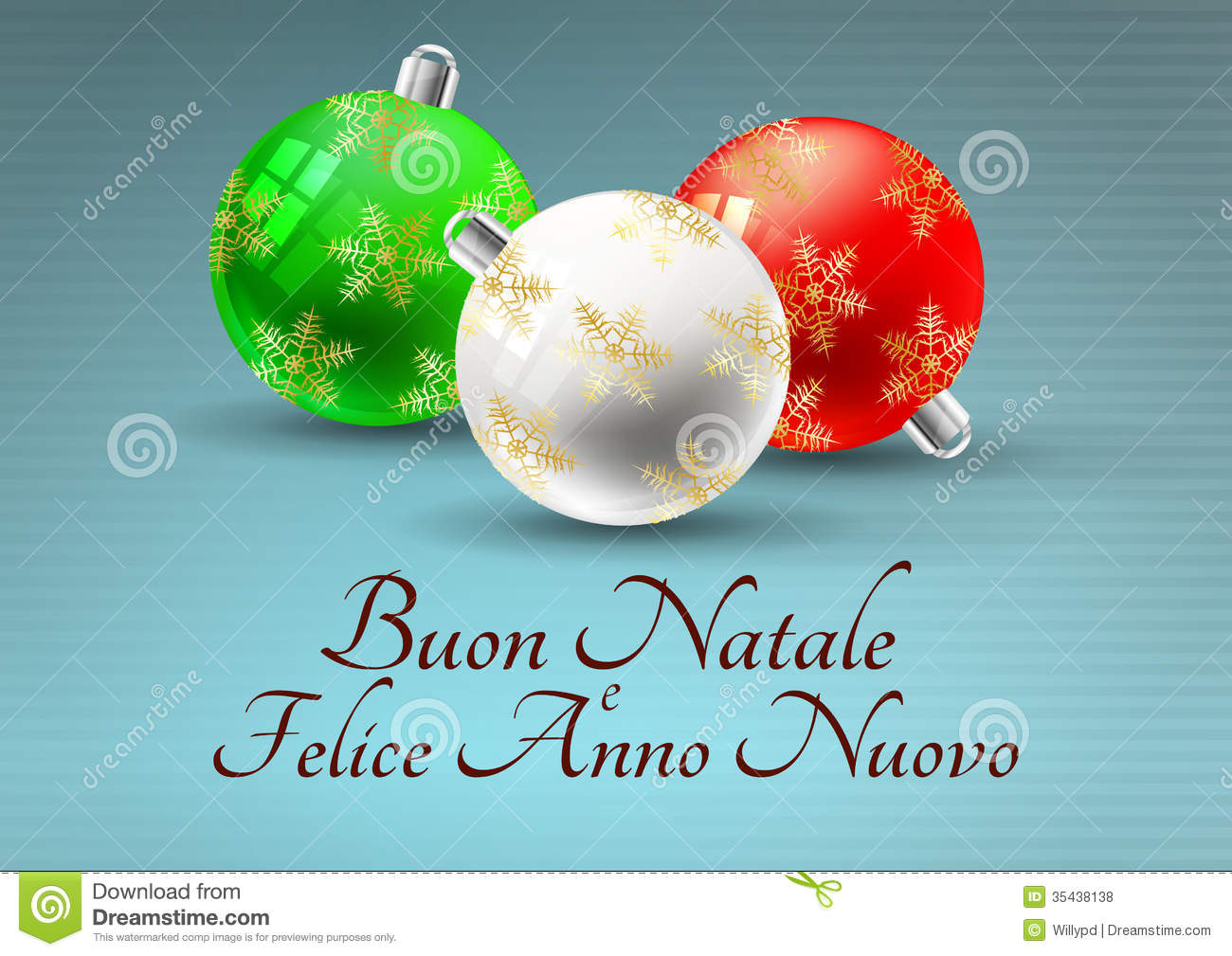 of christmas balls with merry christmas in italian language fKg0cXrk