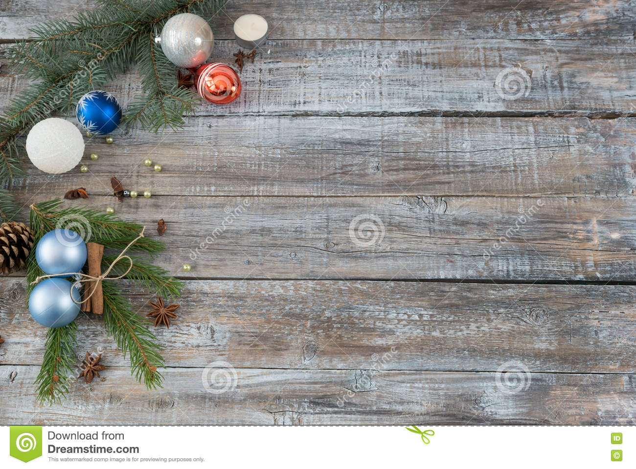 xmas or new year background holiday plain composition made of ch