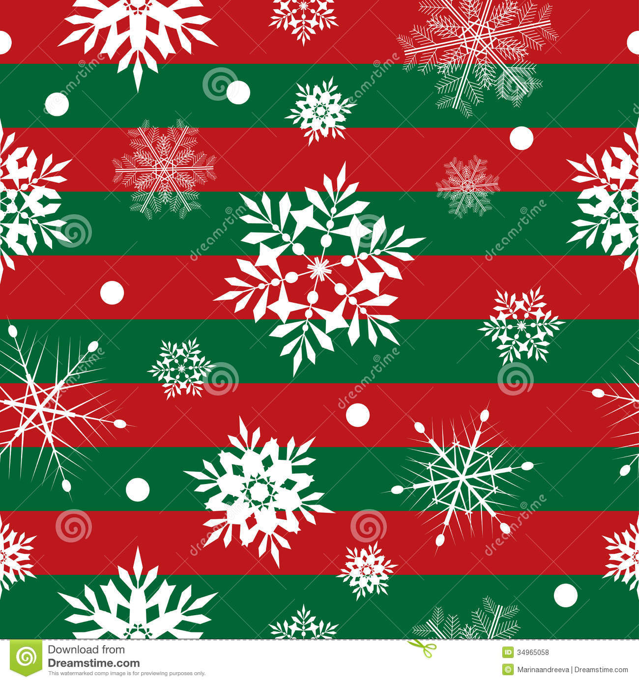 Wrapping Presents Xmas Pattern Royalty Free Stock Photos Image 34965058