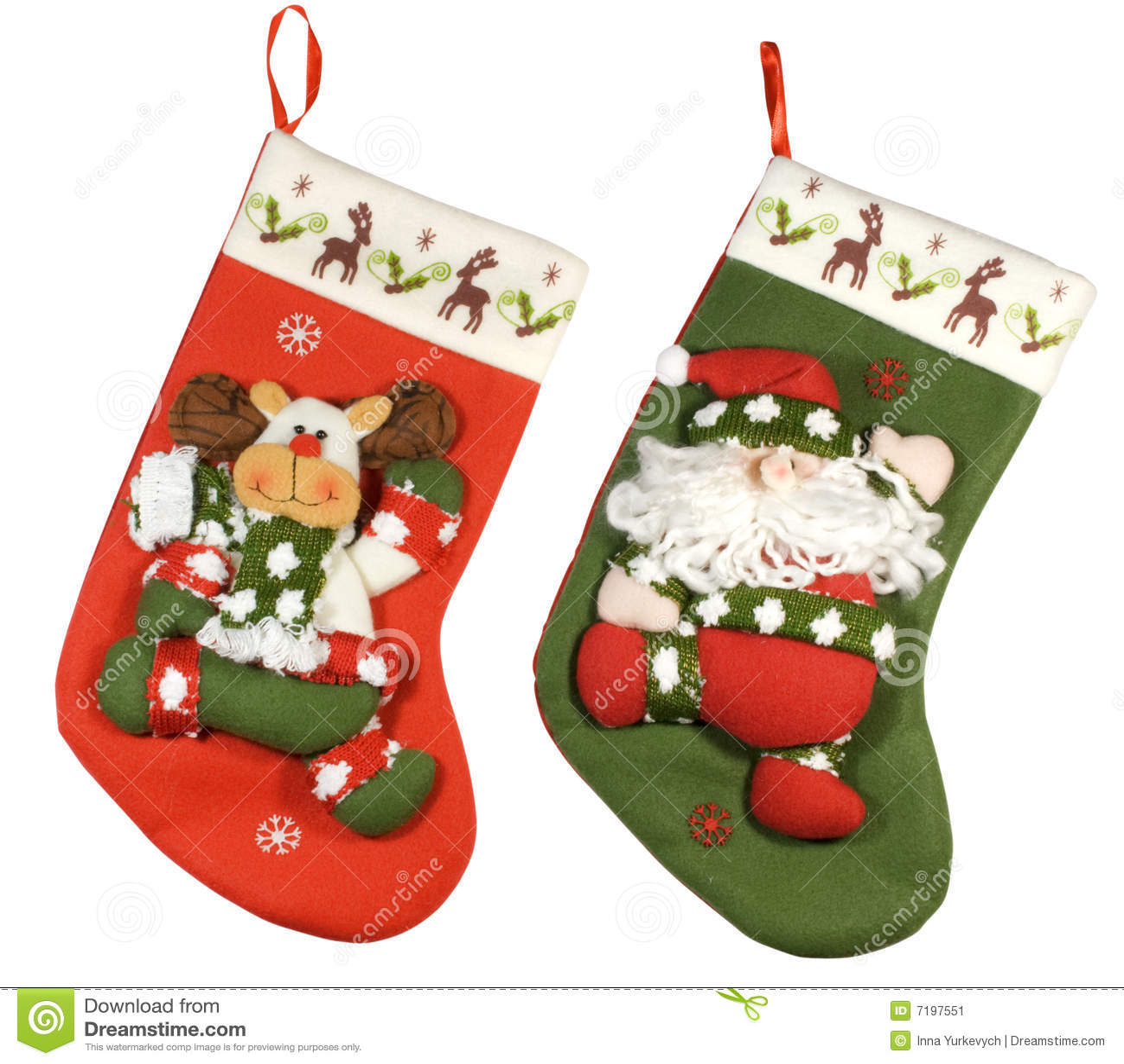 Xmas socks stock image. Image of celebrate, celebration - 7197551