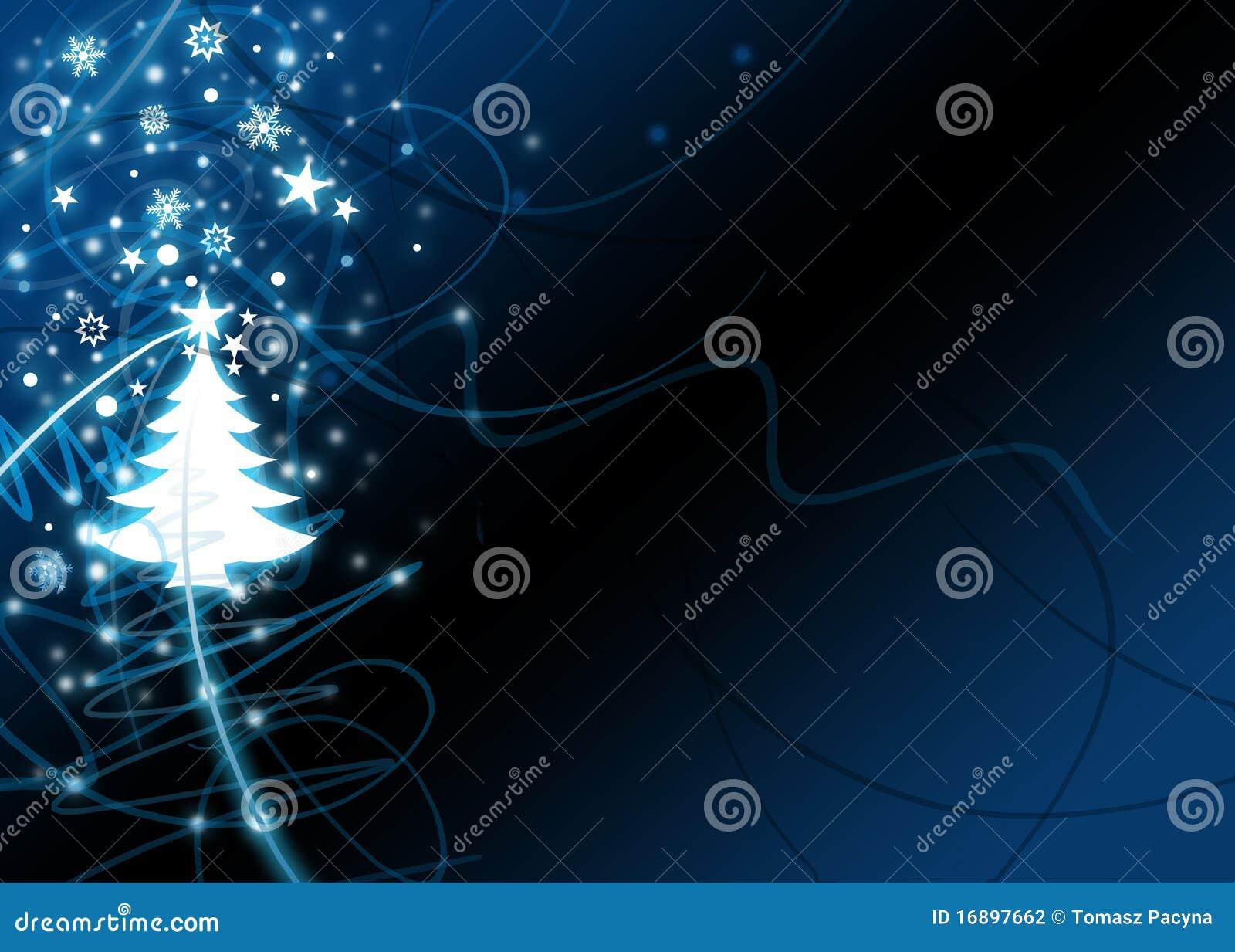 Xmas Tree Background