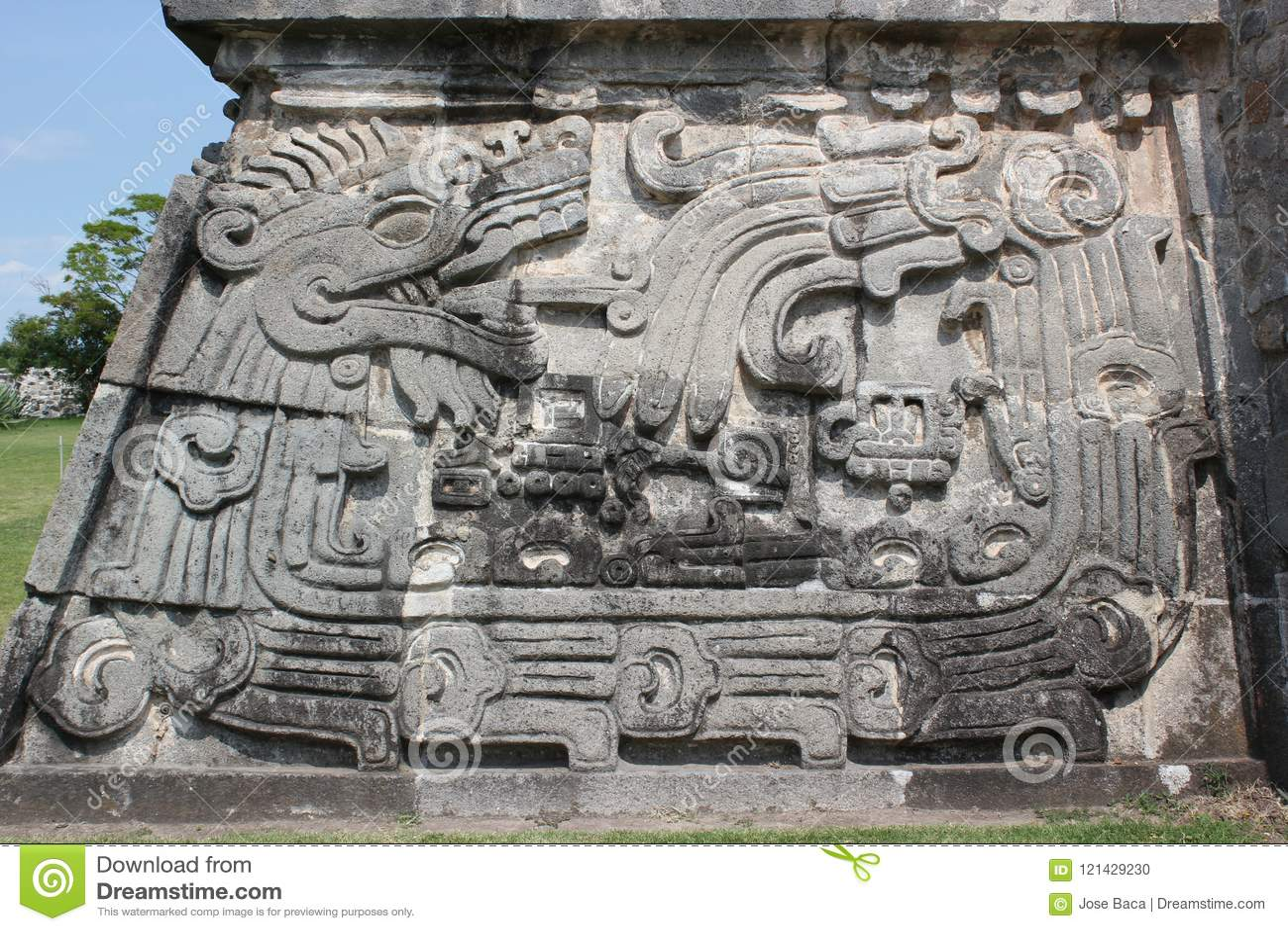 Xochicalco the One Quetzalcoatl