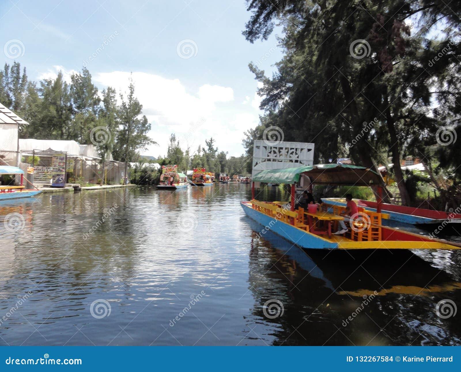 Xochimilco - Ciudad de Mexico - Mexico