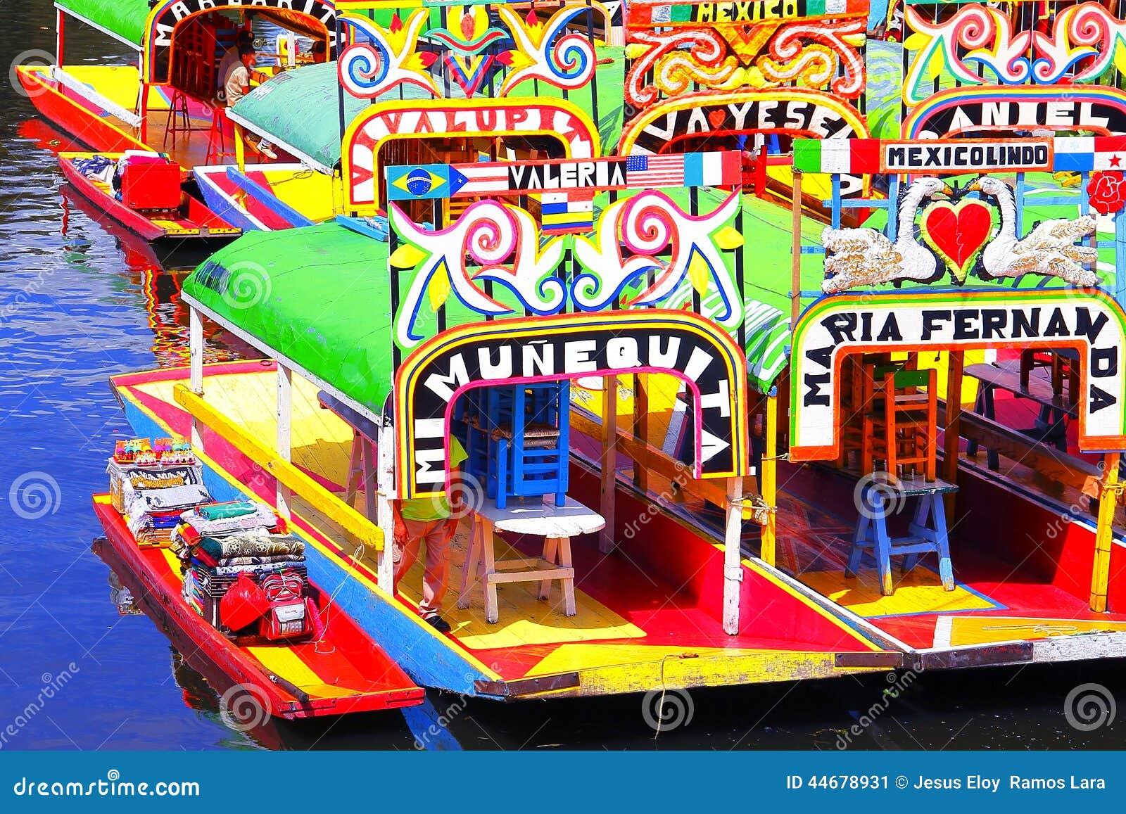 Xochimilco V Stock Image Image Of Name Touristic Travel 44678931