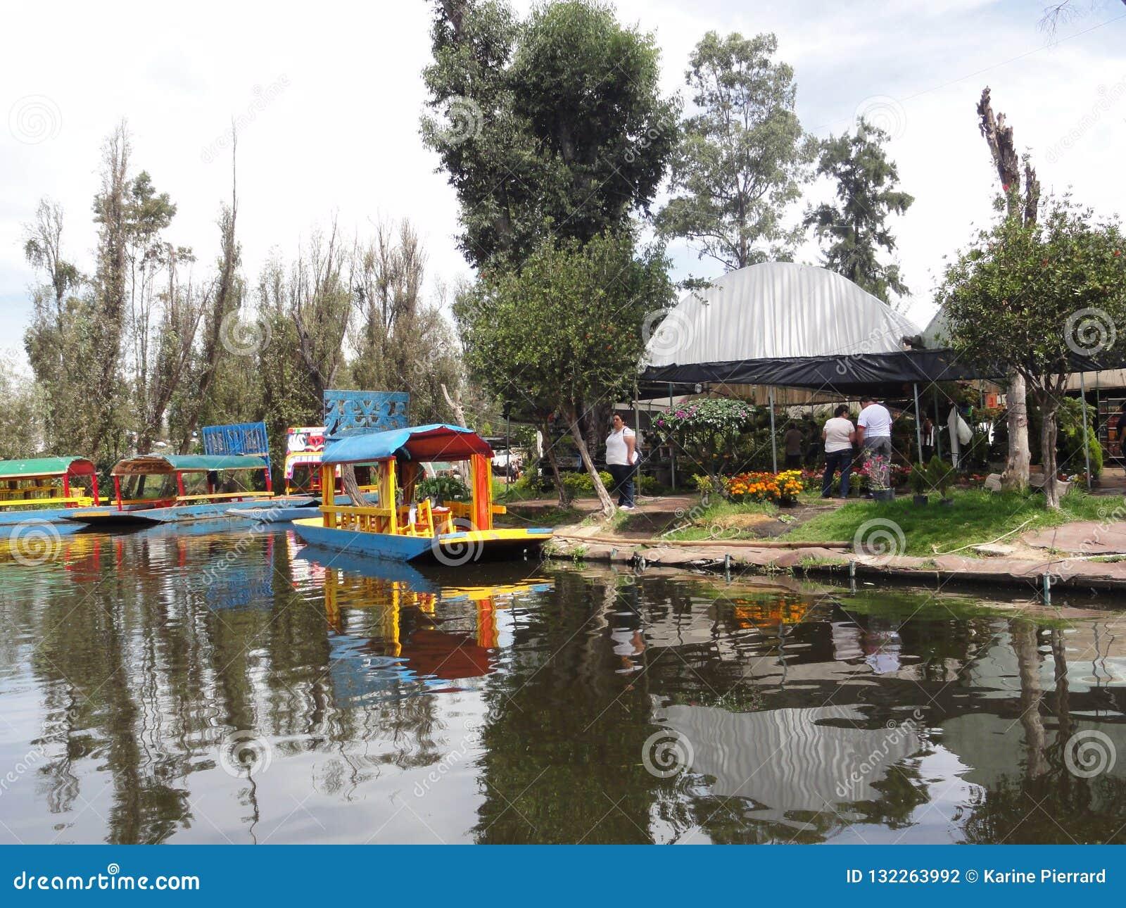 Xochimilco - Venise Mexicana - Mexico