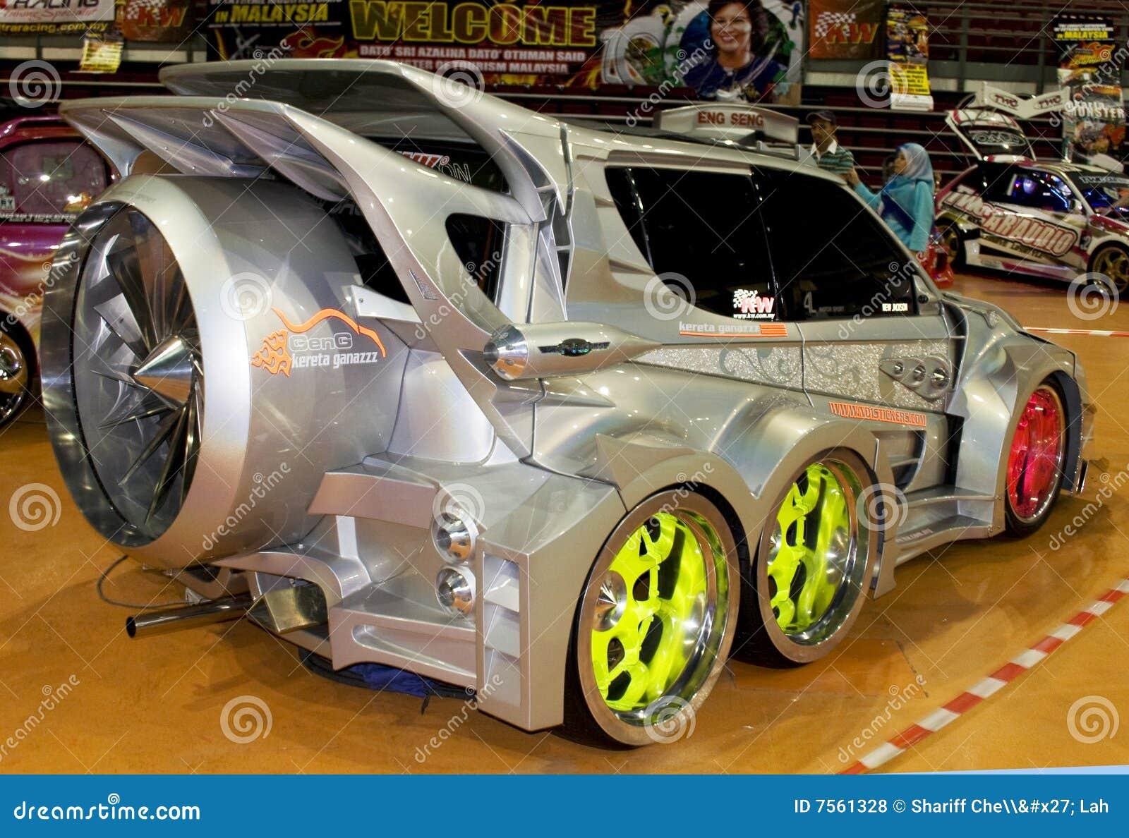 Xtreme Car Editorial Stock Photo Image 7561328