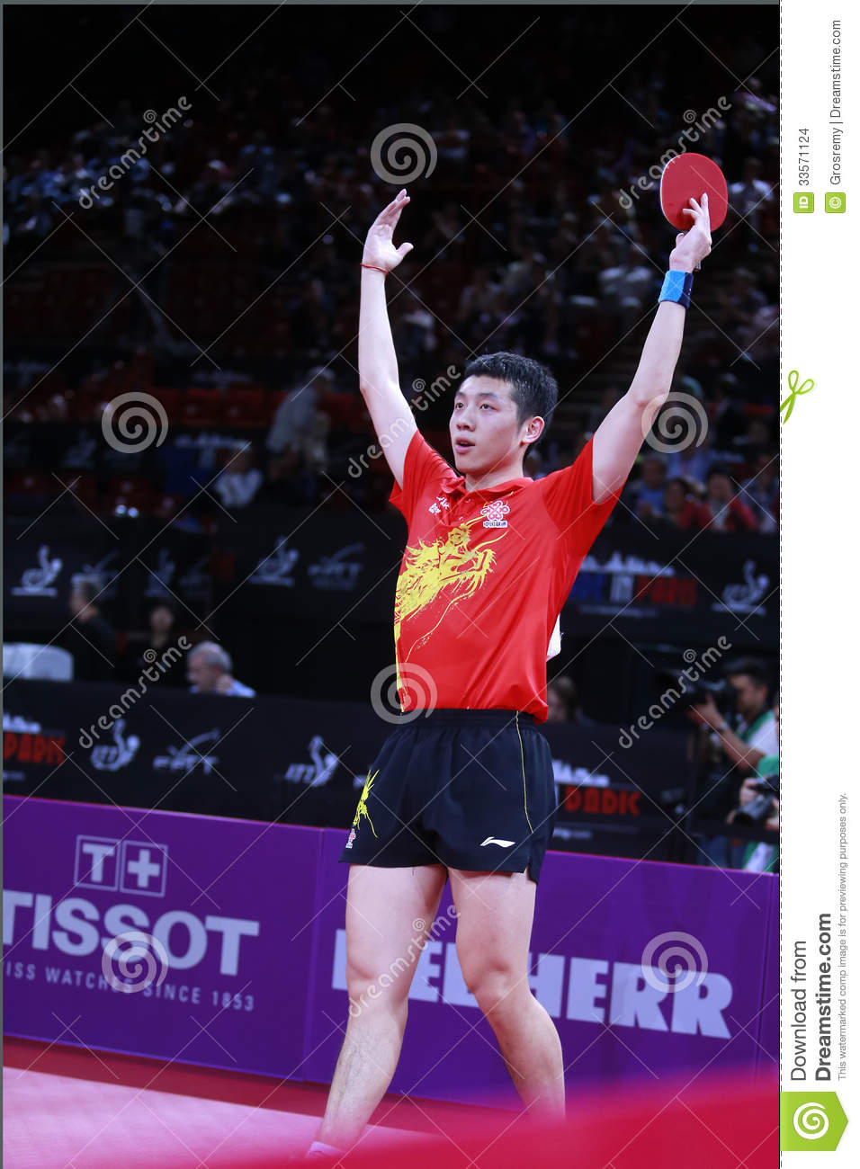 Xu xin chn editorial stock image image 33571124 - World table tennis championships ...