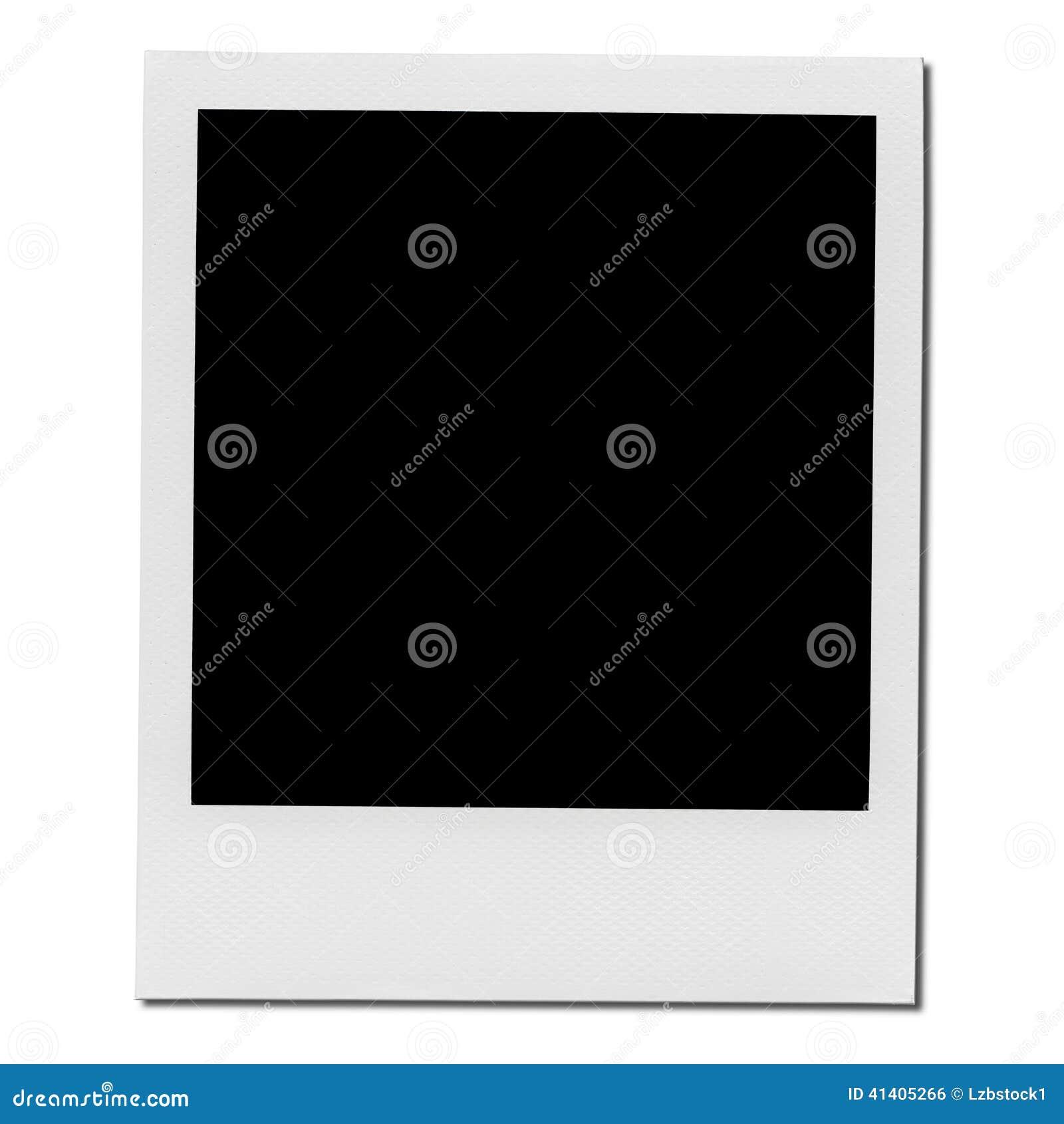 xxl cadre polaro d vide de photo photo stock image. Black Bedroom Furniture Sets. Home Design Ideas
