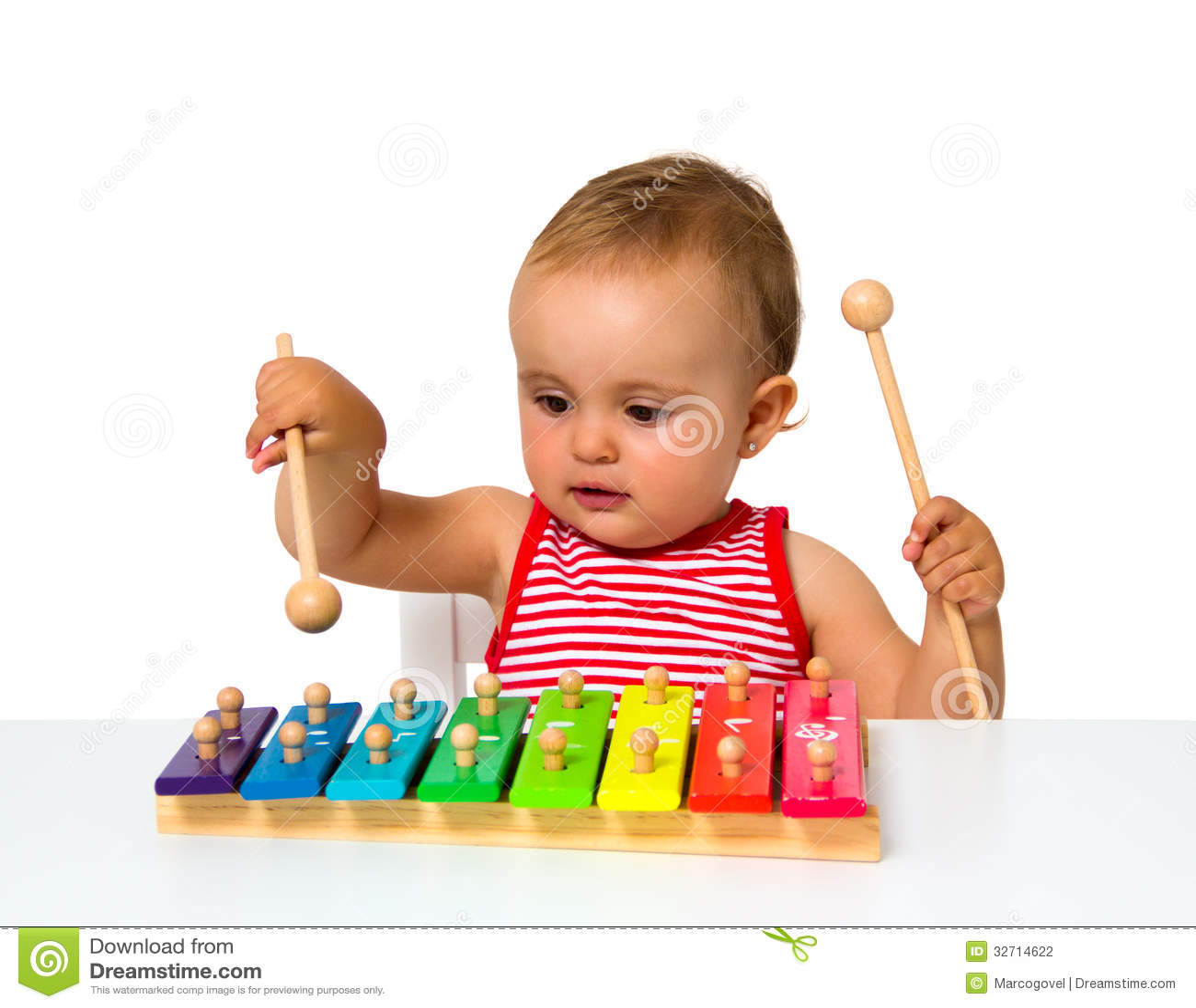 Xylophone παιχνιδιού μωρών