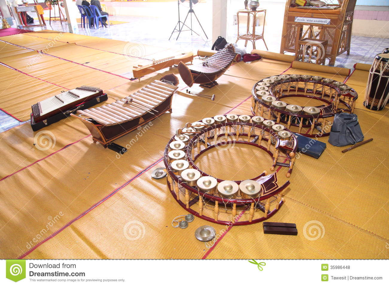 Thai Music Instruments
